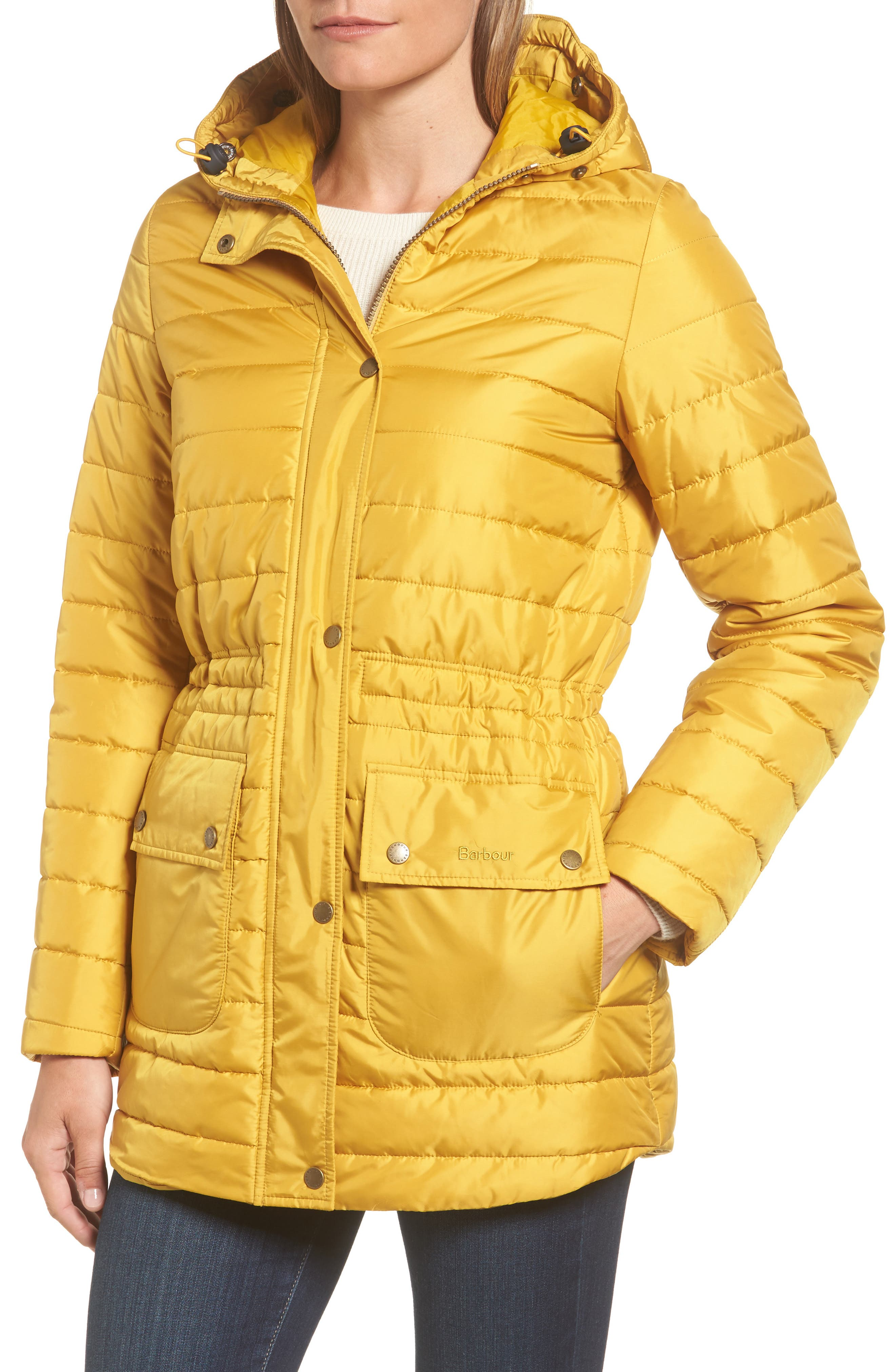 Alternate Image 4  - Barbour Ascott Water Resistant Quilted Jacket