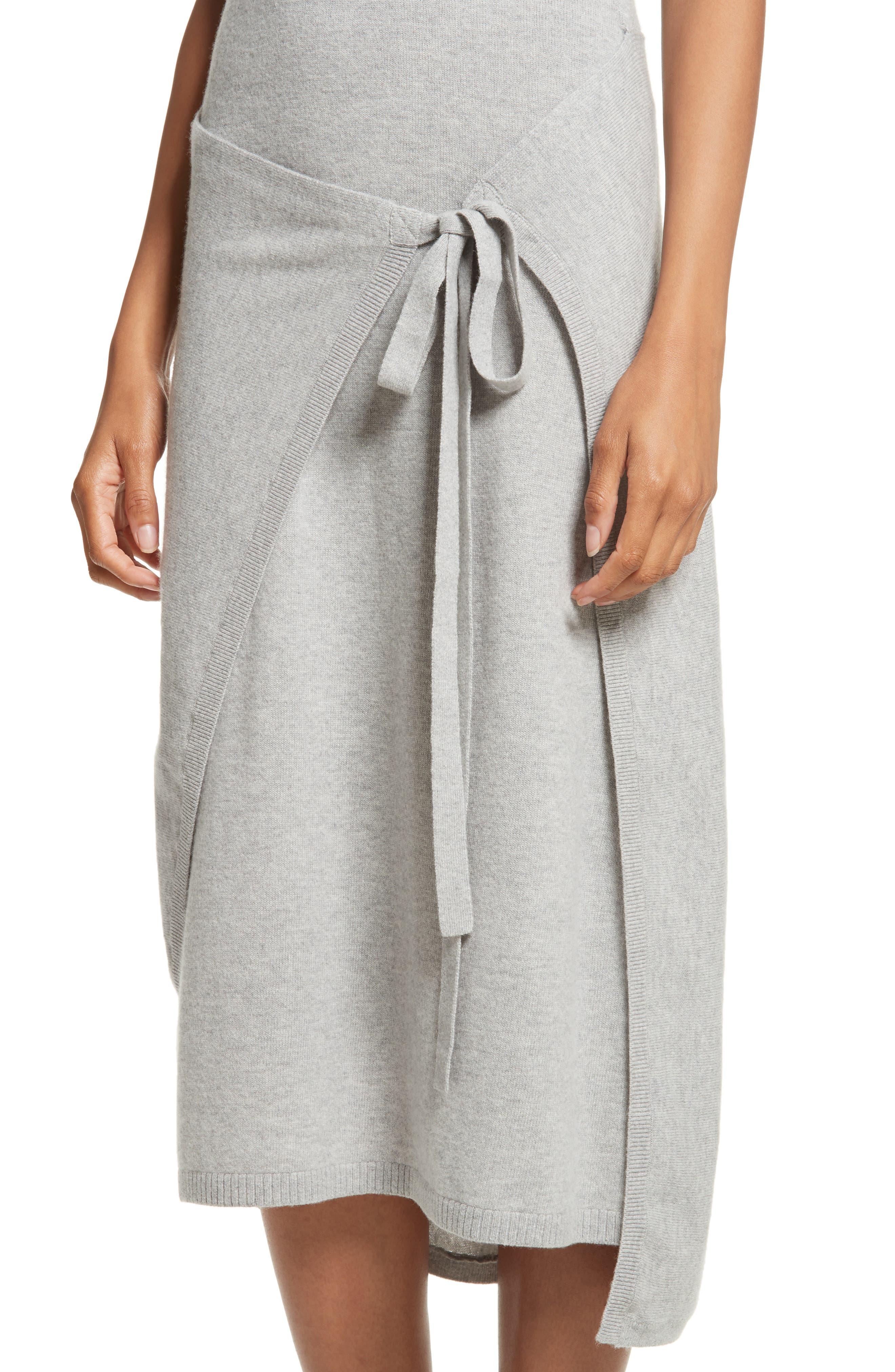 Alternate Image 4  - Joseph Tie Front Wool Sweater Dress