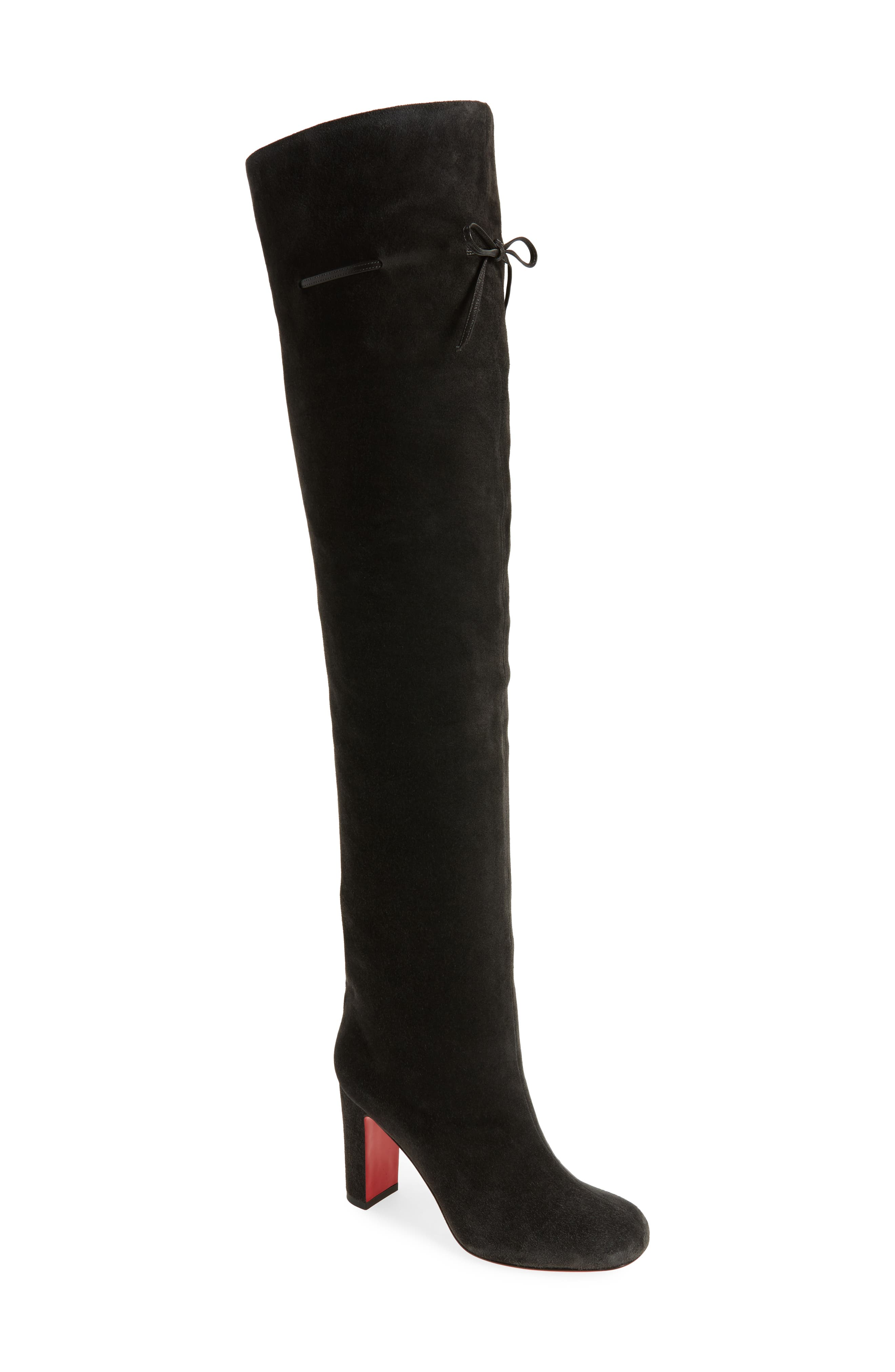 Alta Gant Over the Knee Boot,                         Main,                         color, Grey Suede