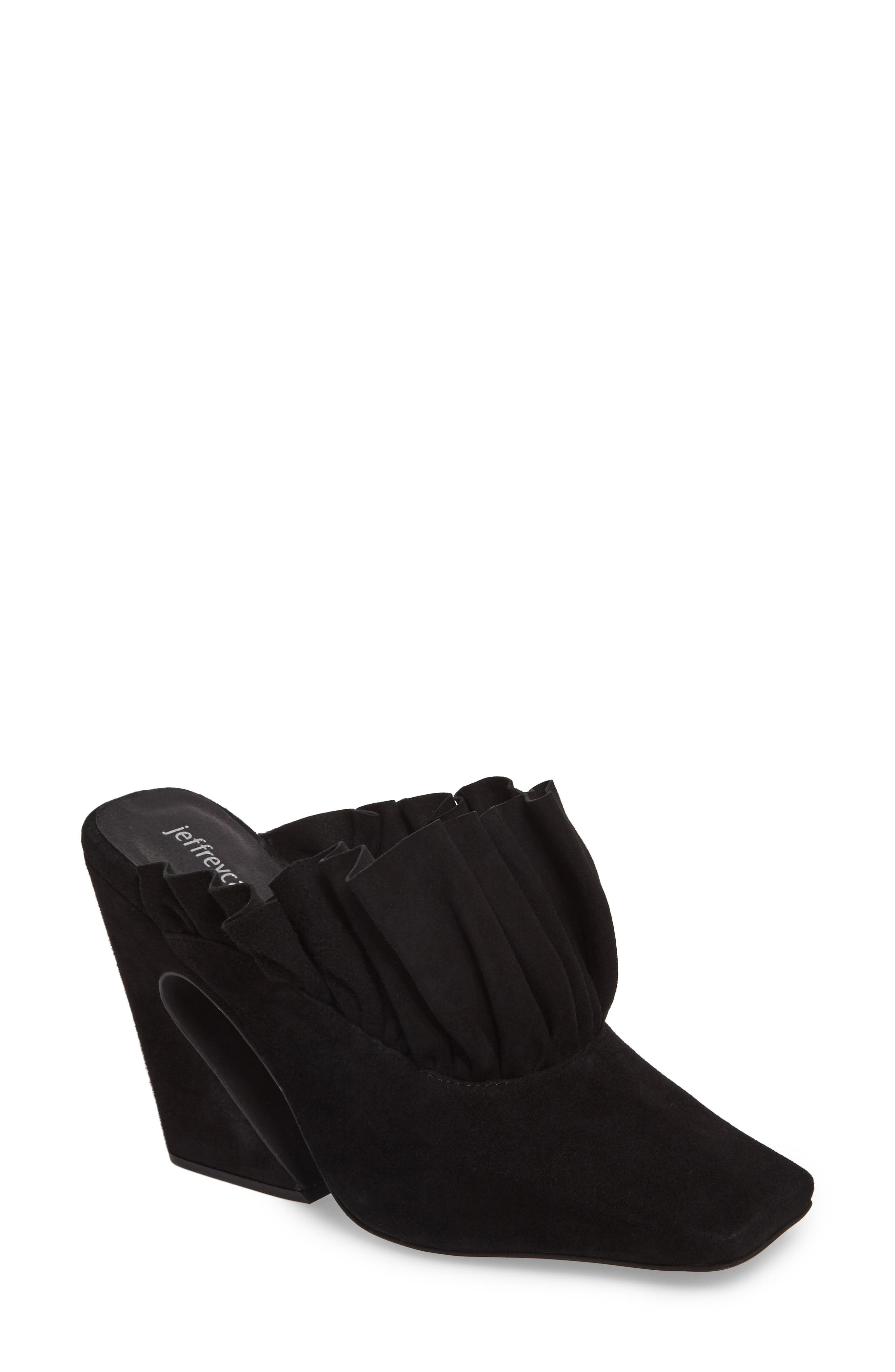 Alternate Image 1 Selected - Jeffrey Campbell Astura Ruffle Mule (Women)