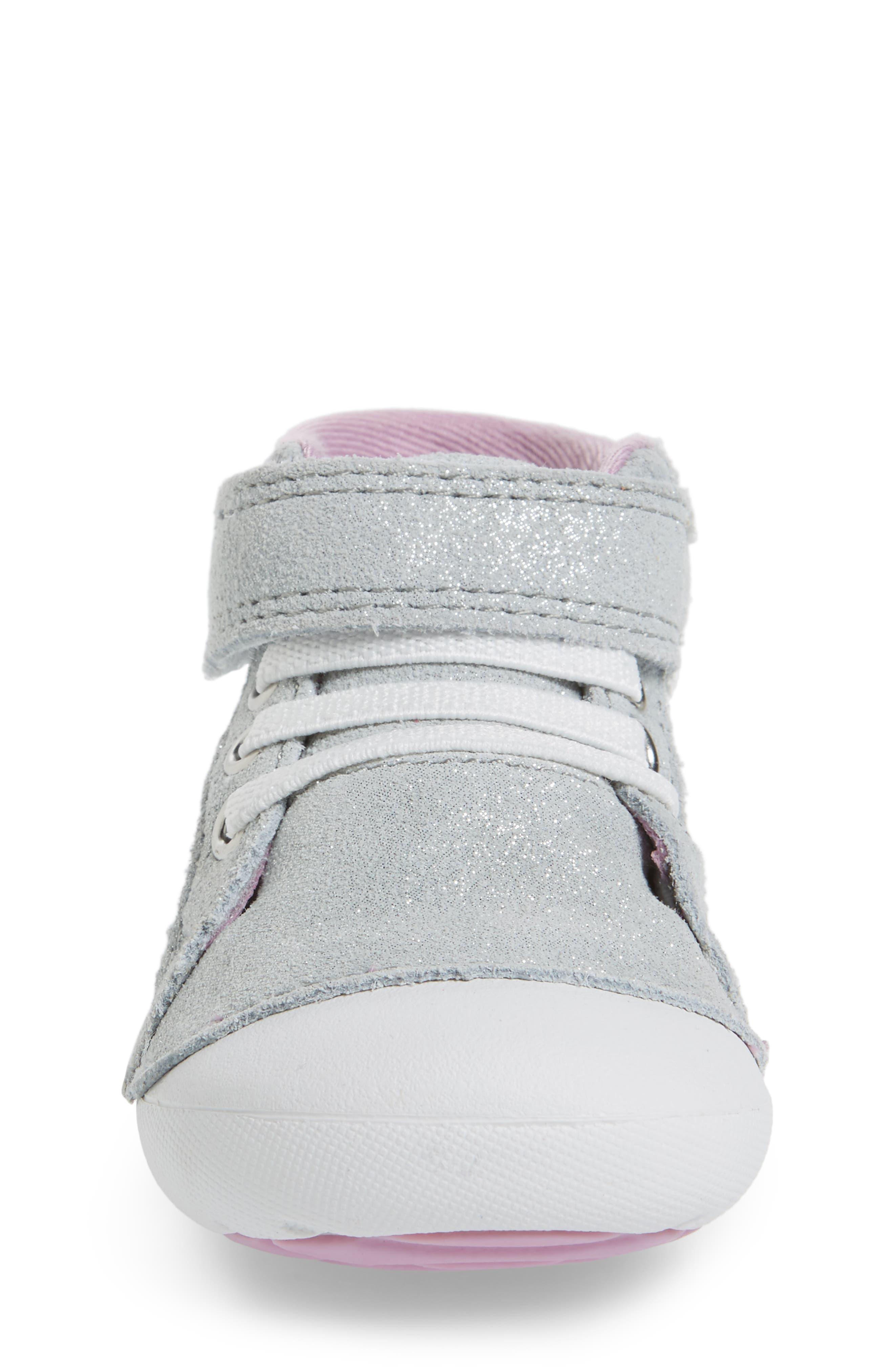 Alternate Image 4  - Stride Rite Soft Motion™ Jada High Top Sneaker (Baby & Walker)