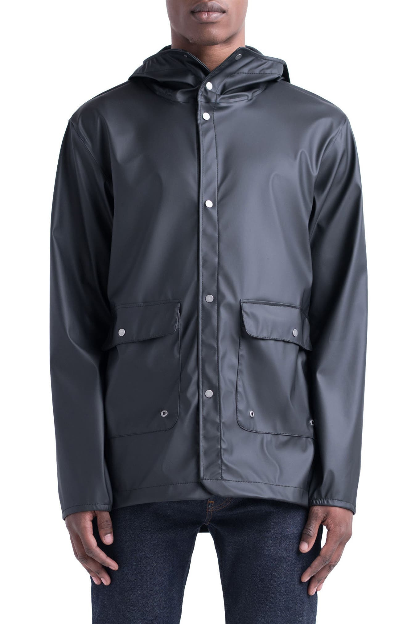 Forecast Parka,                             Main thumbnail 1, color,                             Black