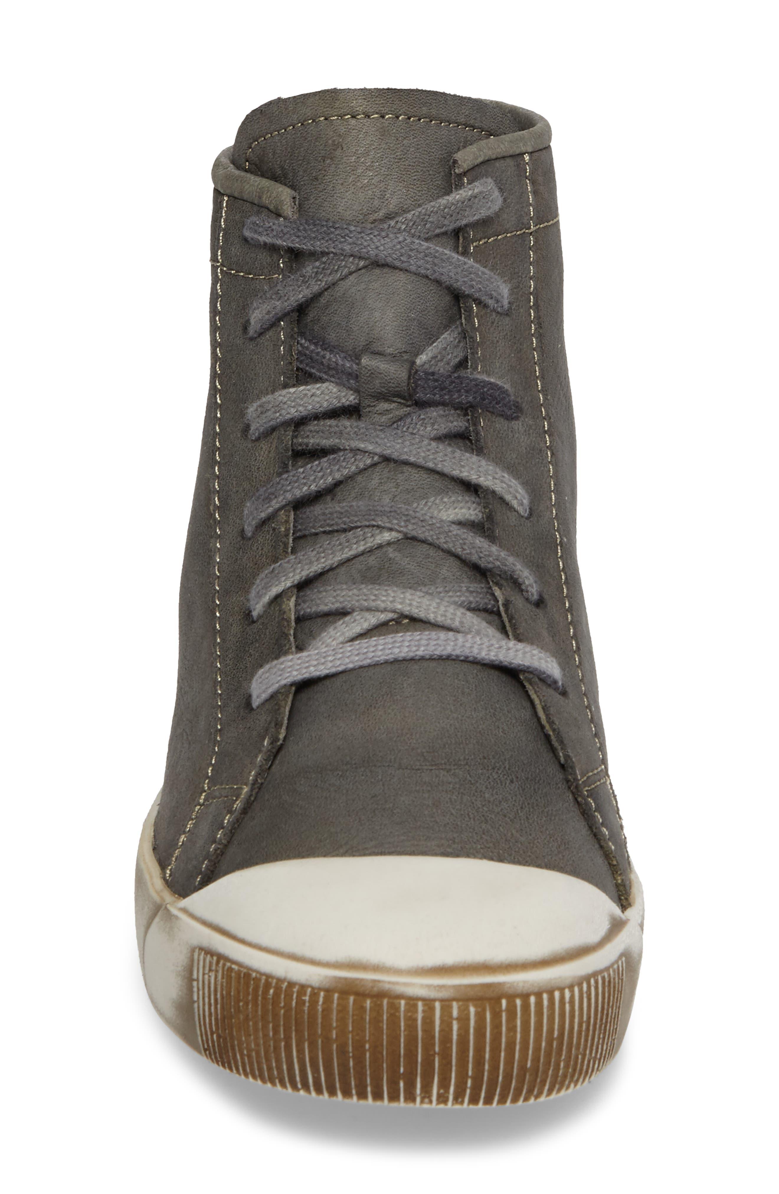 Alternate Image 4  - Softinos by Fly London Kip High Top Sneaker (Women)