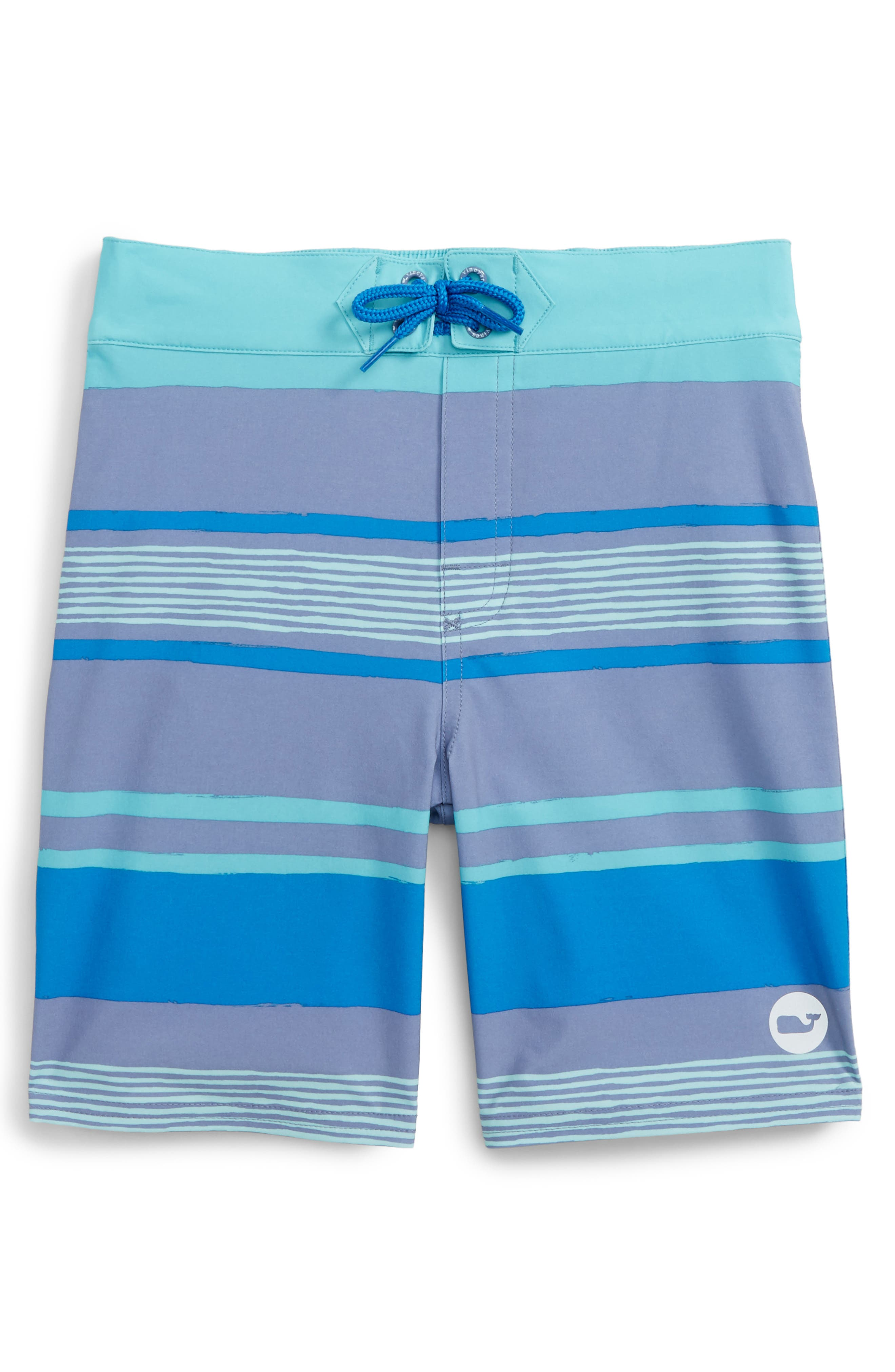 Vineyard Vines Surfer Stripe Board Shorts (Toddler Boys & Little Boys)