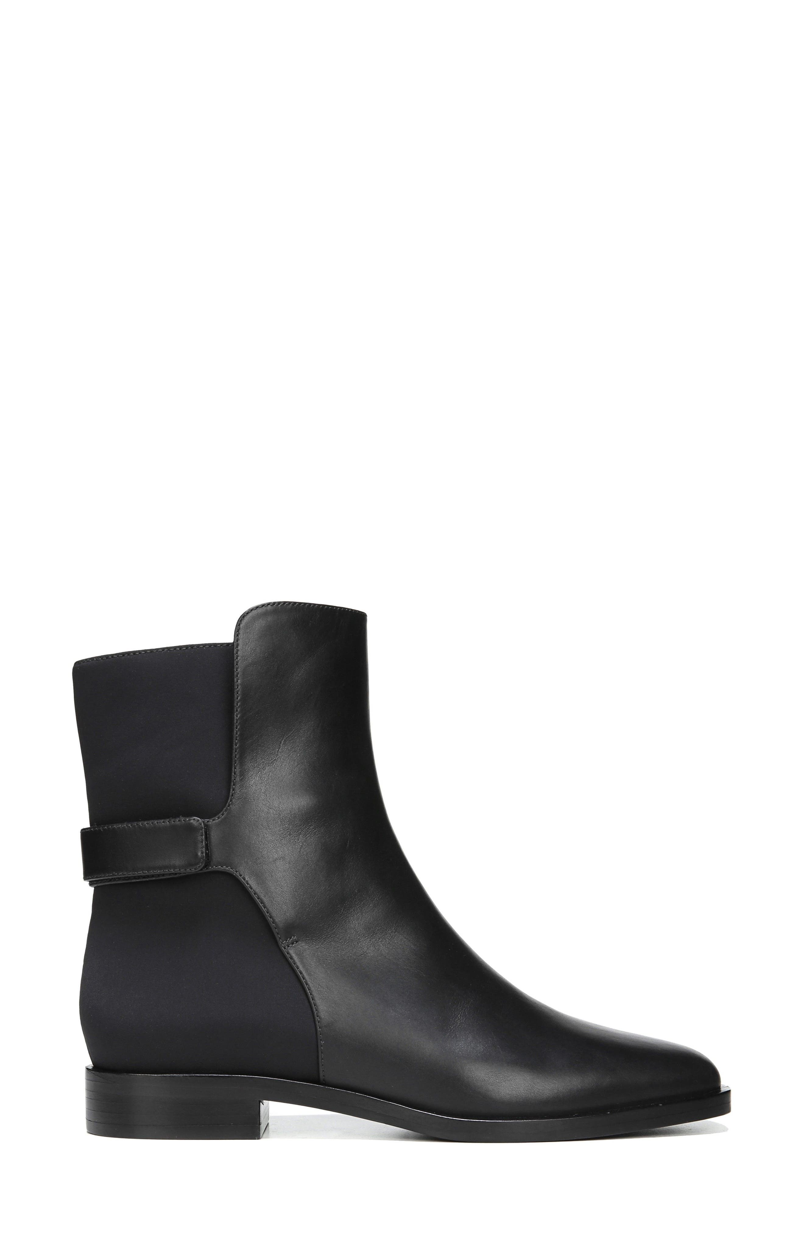 Vaughan Boot,                             Alternate thumbnail 3, color,                             Black Leather