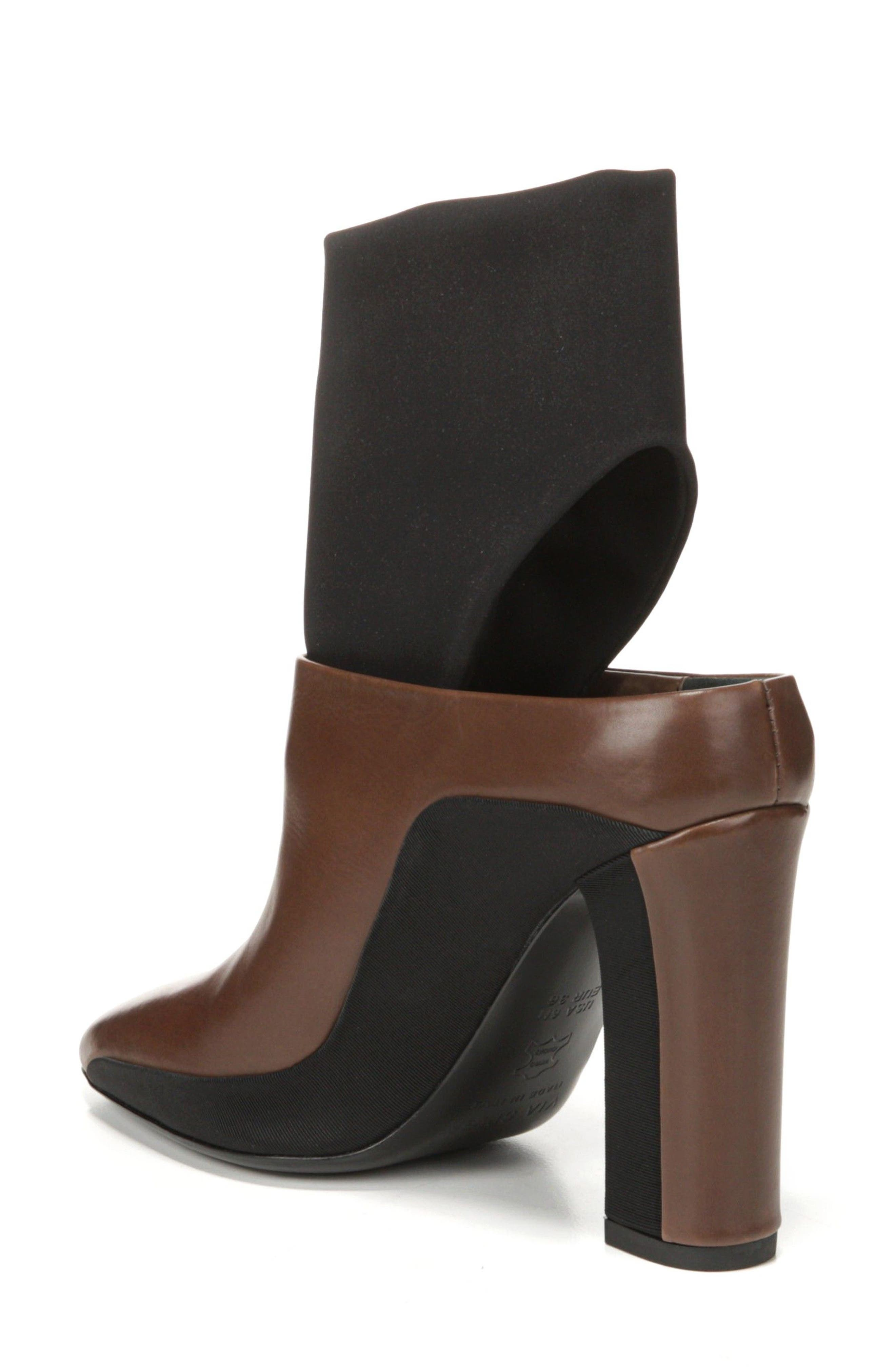 Agyness Cutout Boot,                             Alternate thumbnail 2, color,                             Bark Leather