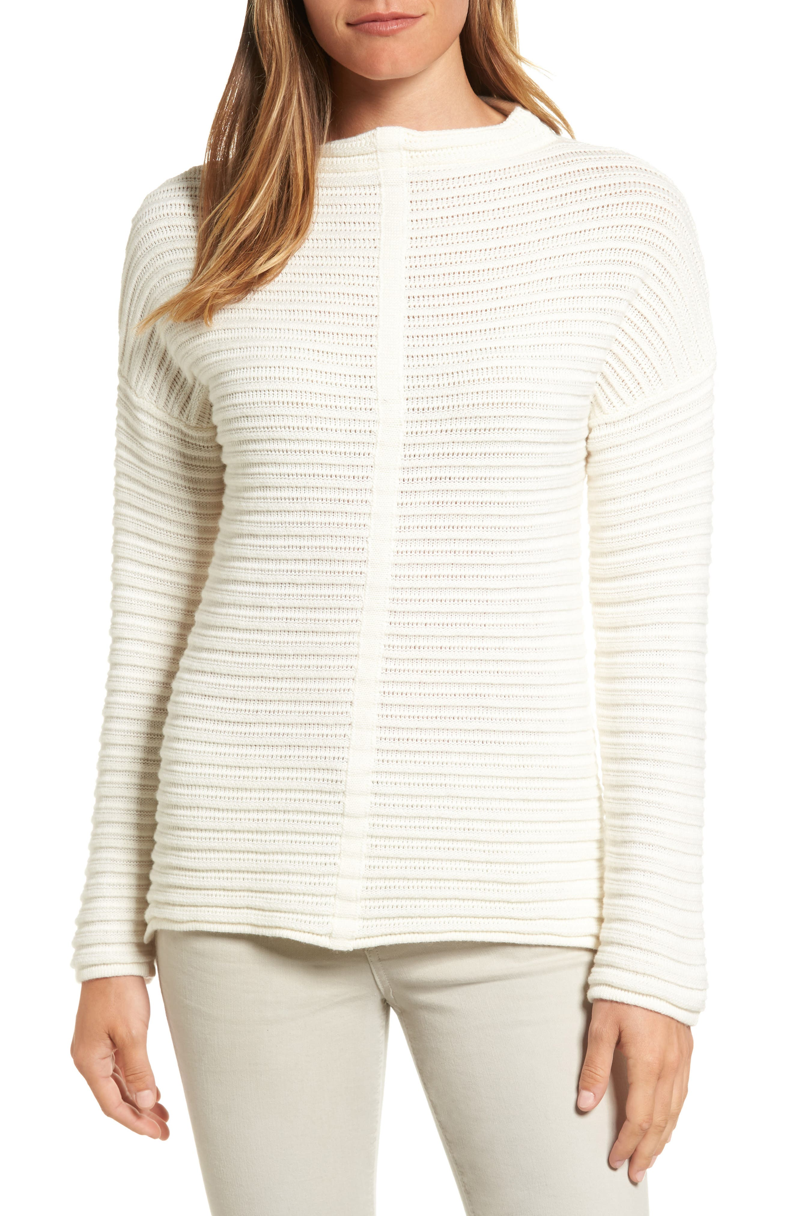 Alternate Image 1 Selected - Barbour Linton Open Stitch Sweater