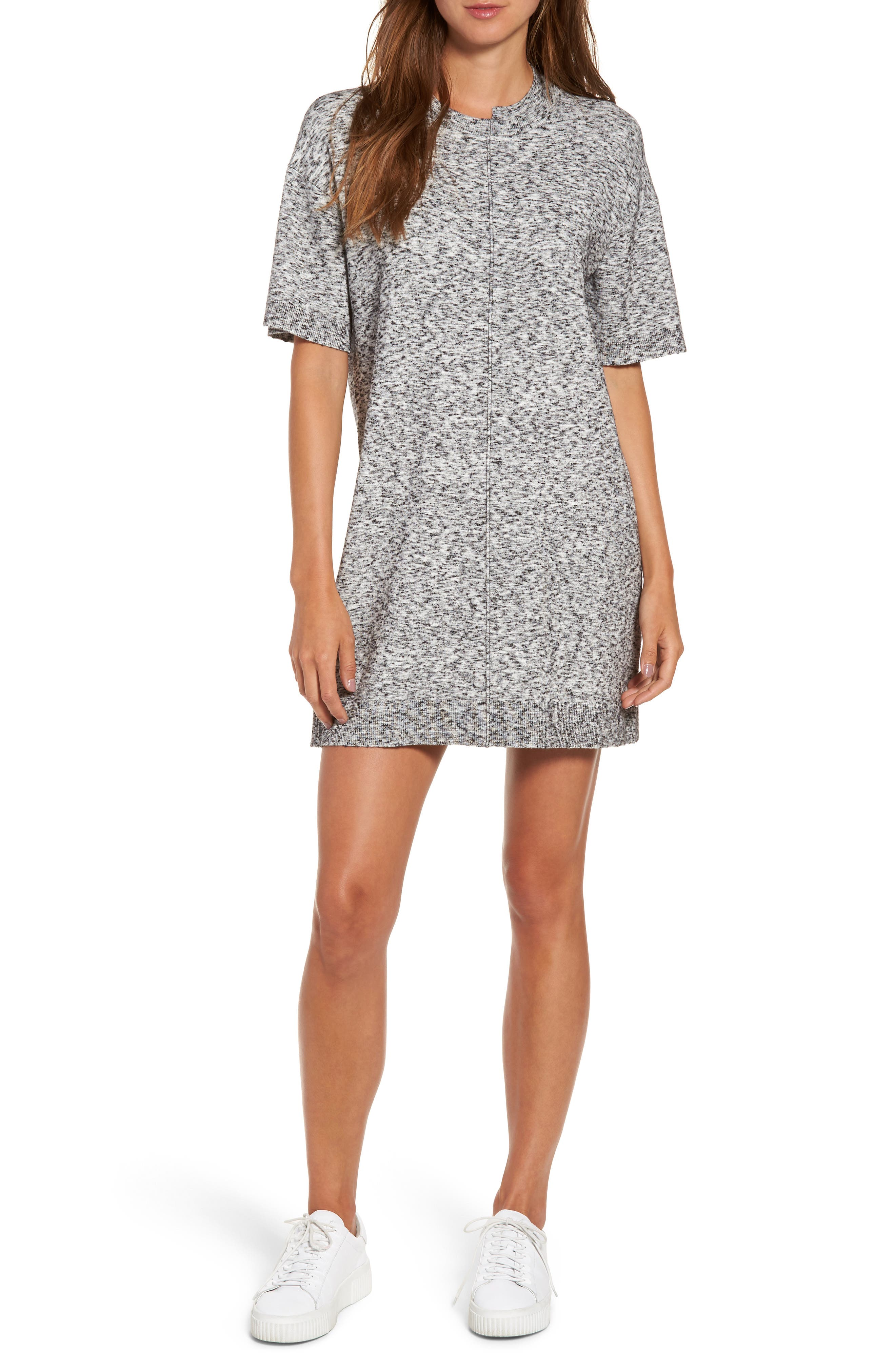 KENDALL + KYLIE Asymmetrical T-Shirt Dress