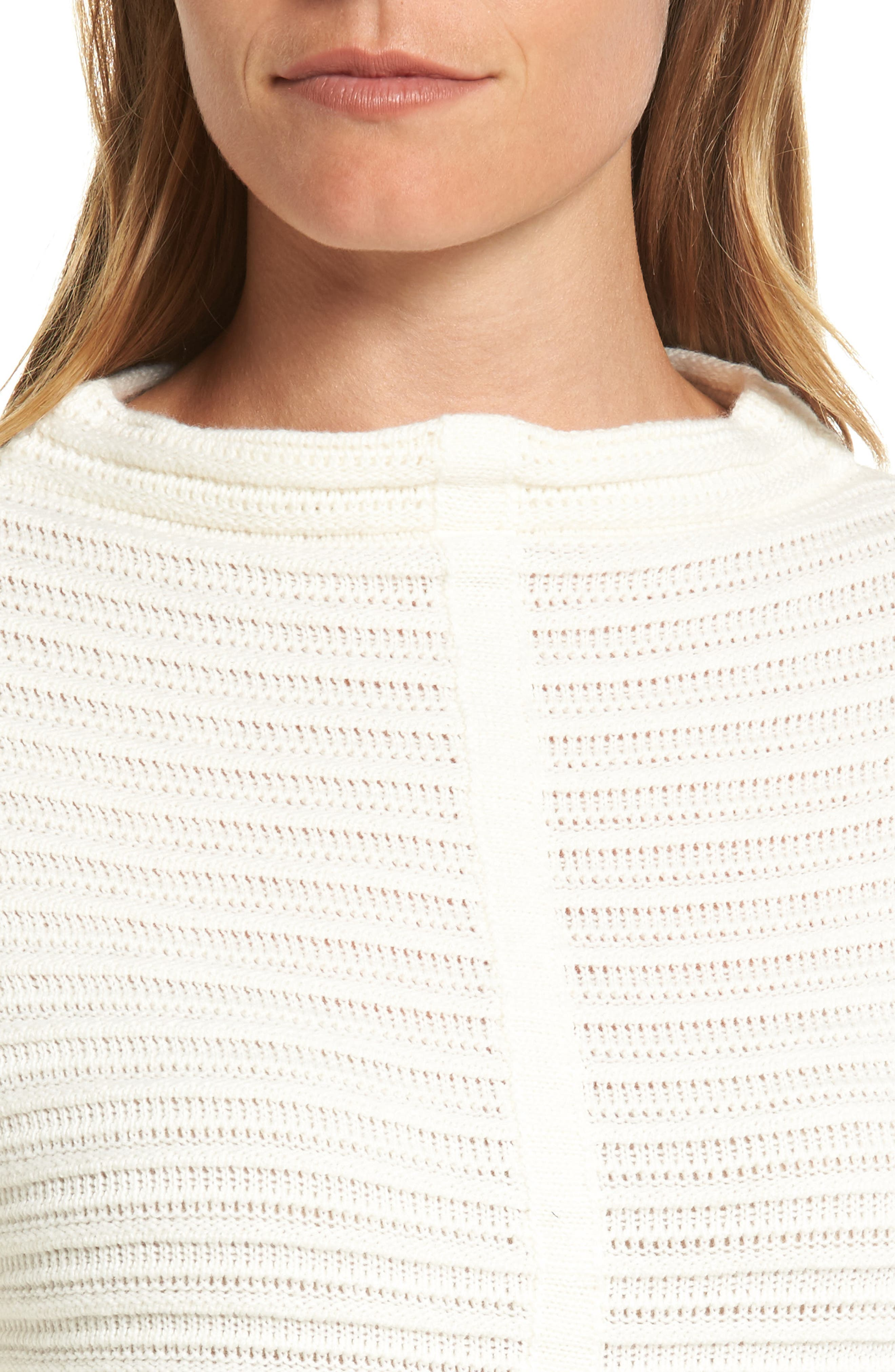 Alternate Image 4  - Barbour Linton Open Stitch Sweater