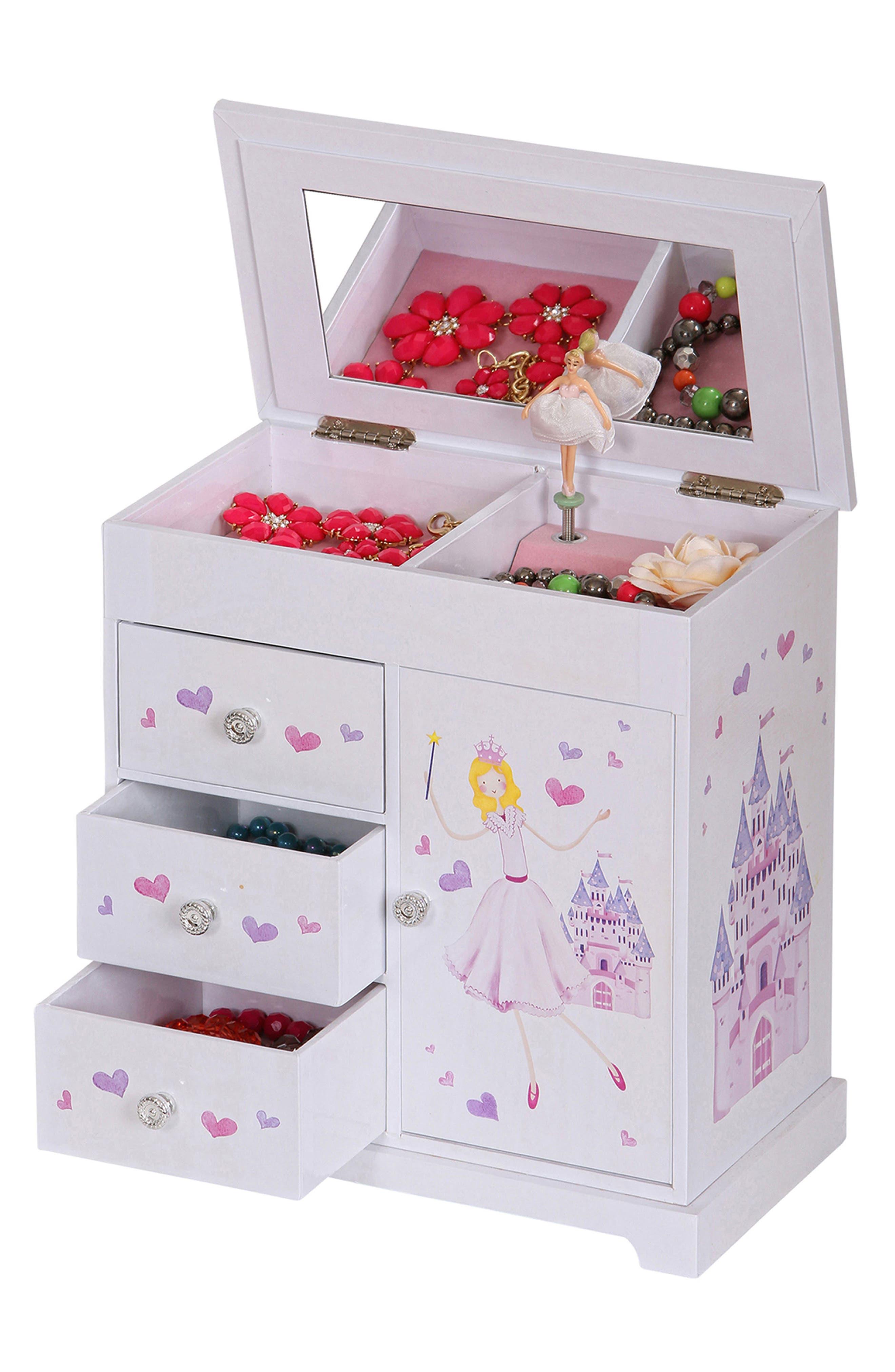 Alternate Image 8  - Mele & Co. Adalyn Musical Jewelry Box (Girls)