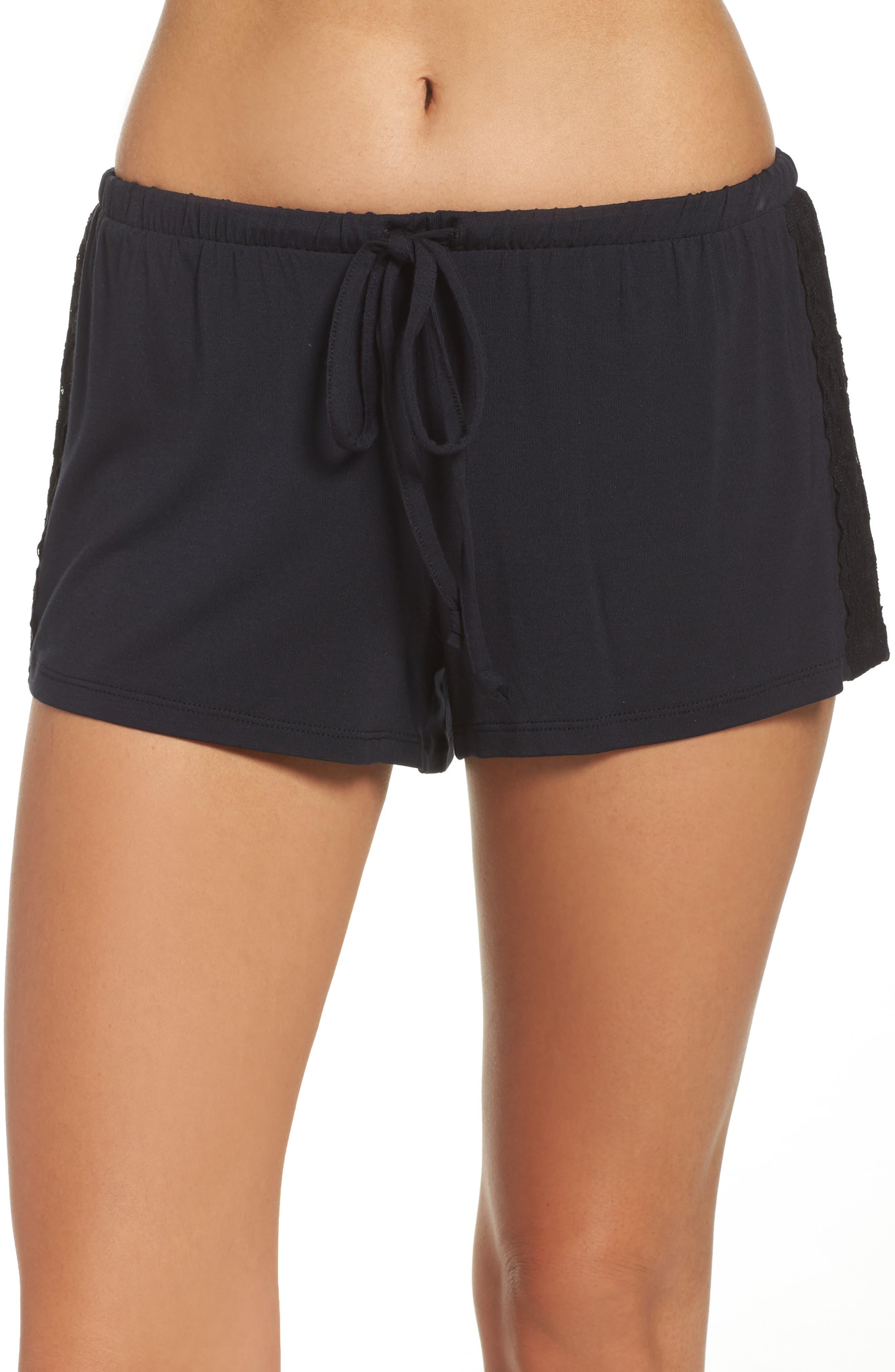 Lounge Shorts,                         Main,                         color, Black