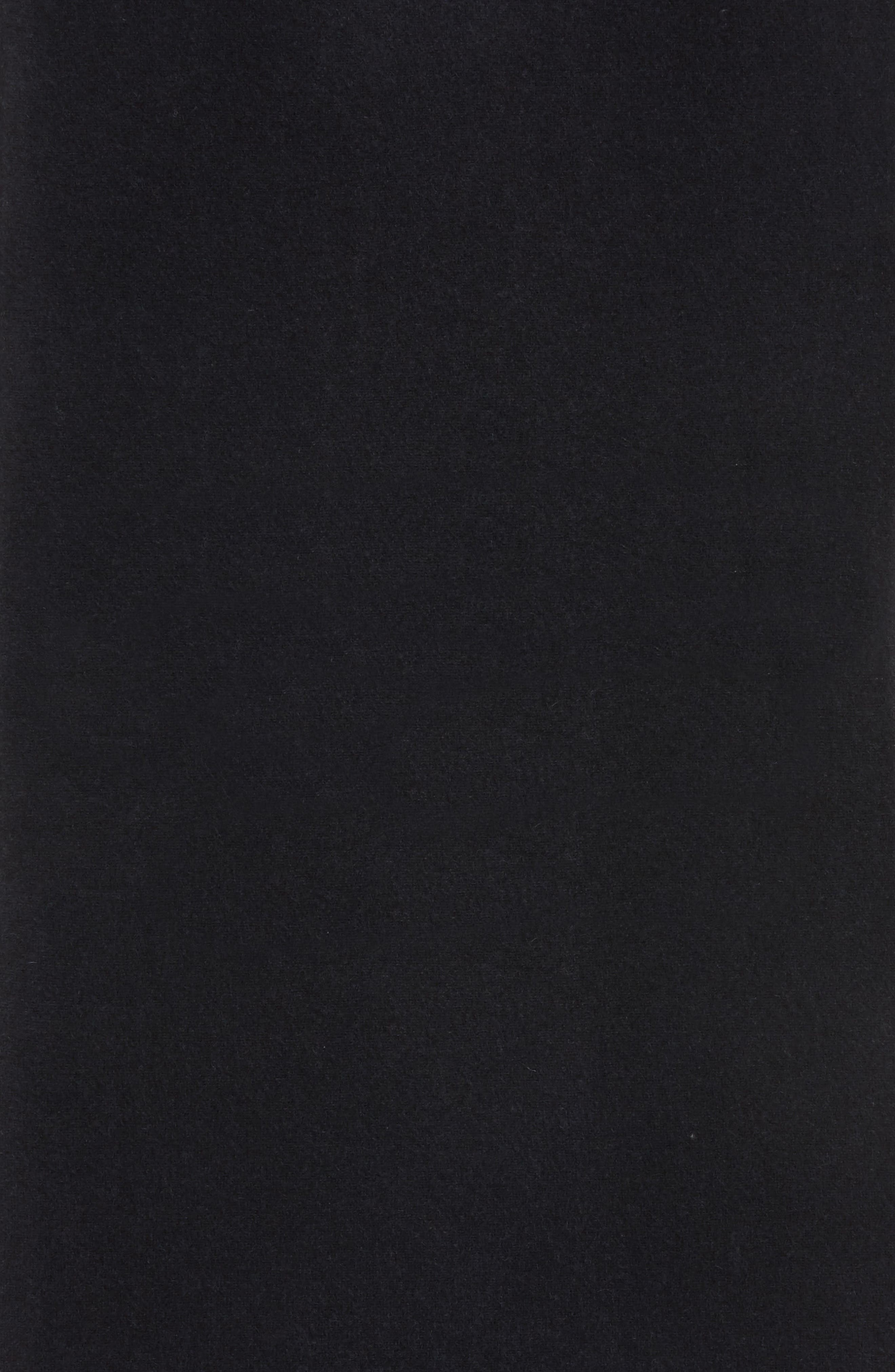 Cashmere Scarf,                             Alternate thumbnail 6, color,                             Black