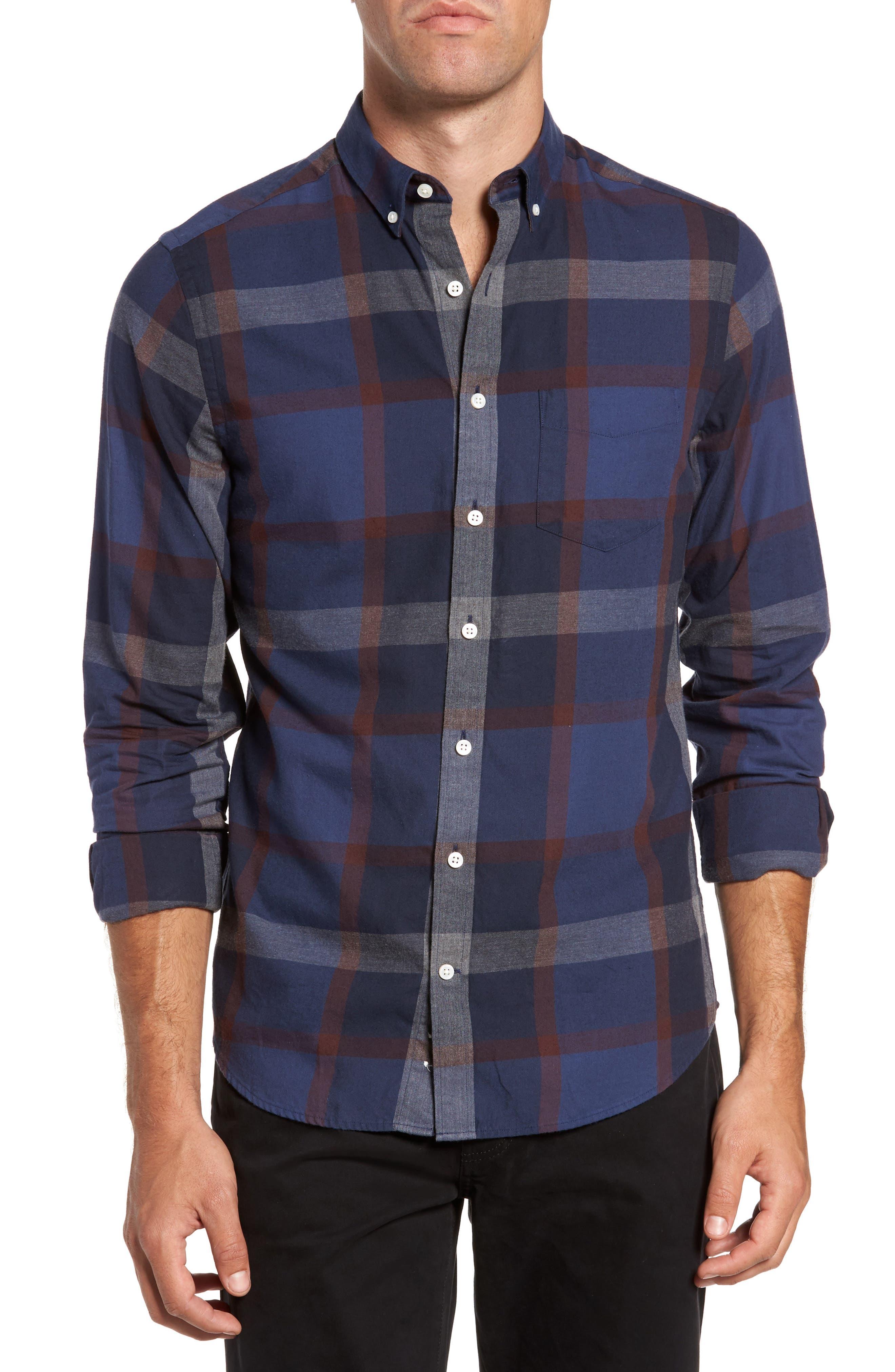 Gant Slim Fit Plaid Sport Shirt