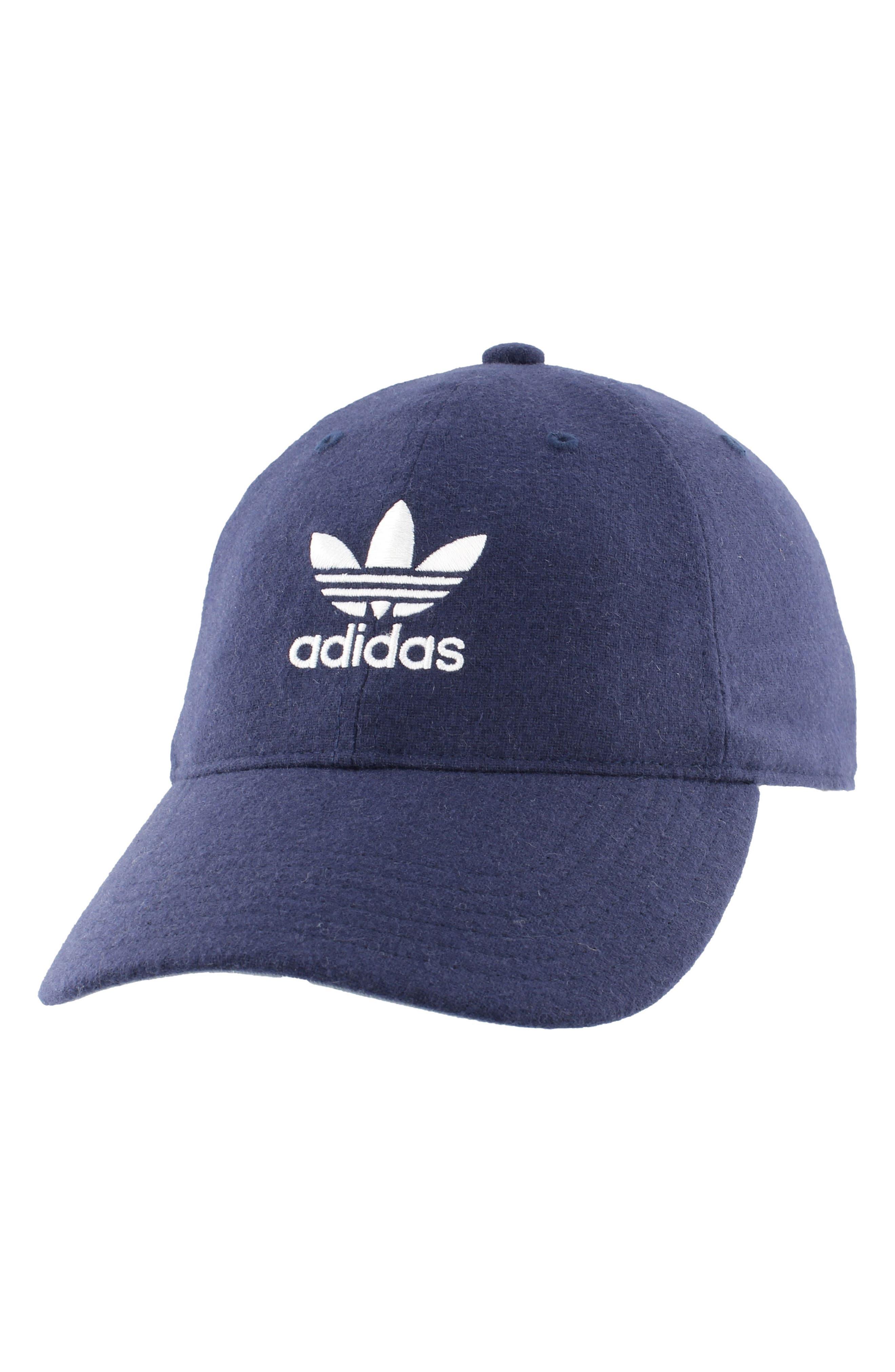 186083fe2901c ADIDAS ORIGINALS RELAXED PLUS BASEBALL CAP - BLUE