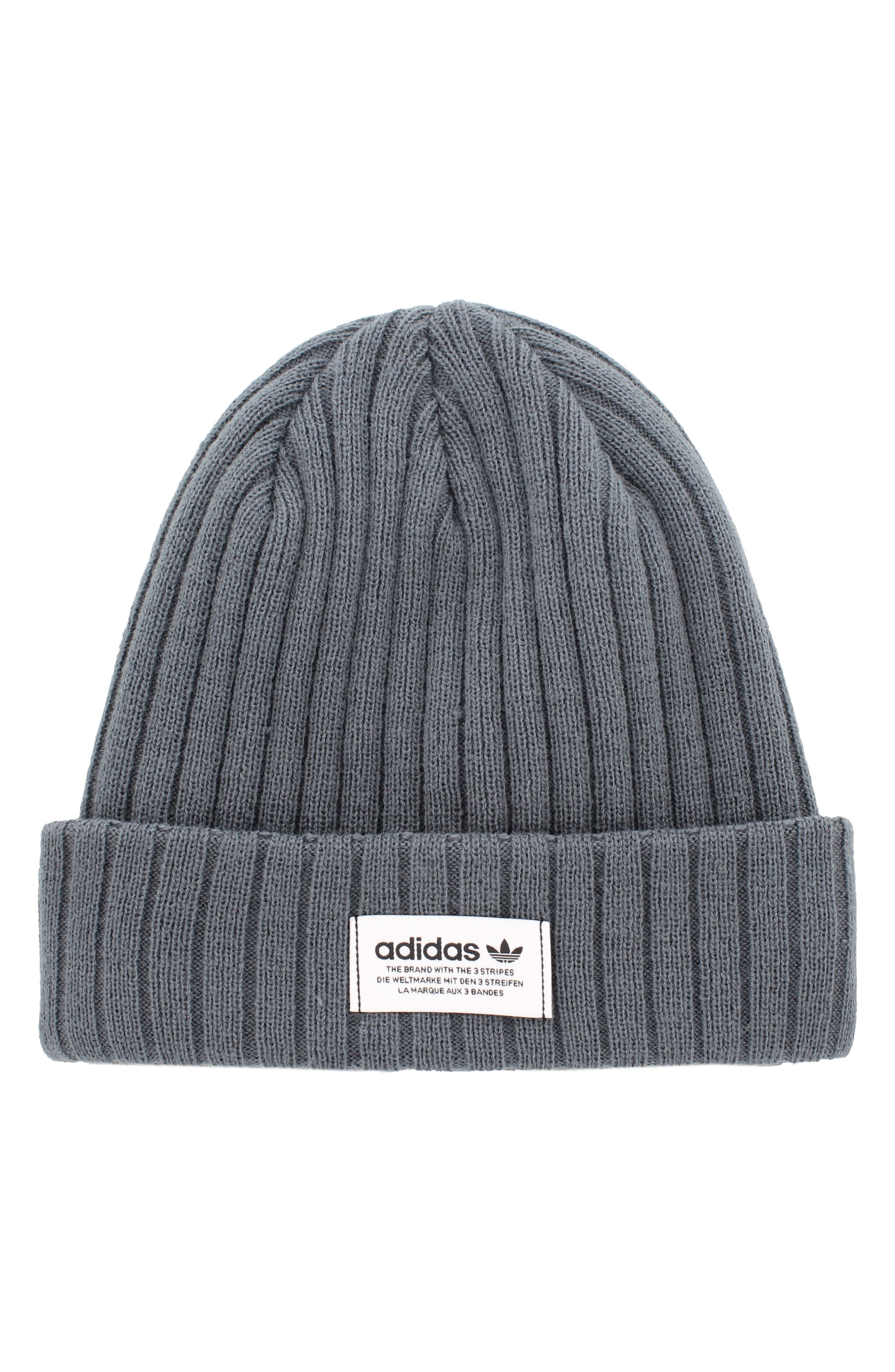 Alternate Image 1 Selected - adidas Originals Ribbed Beanie