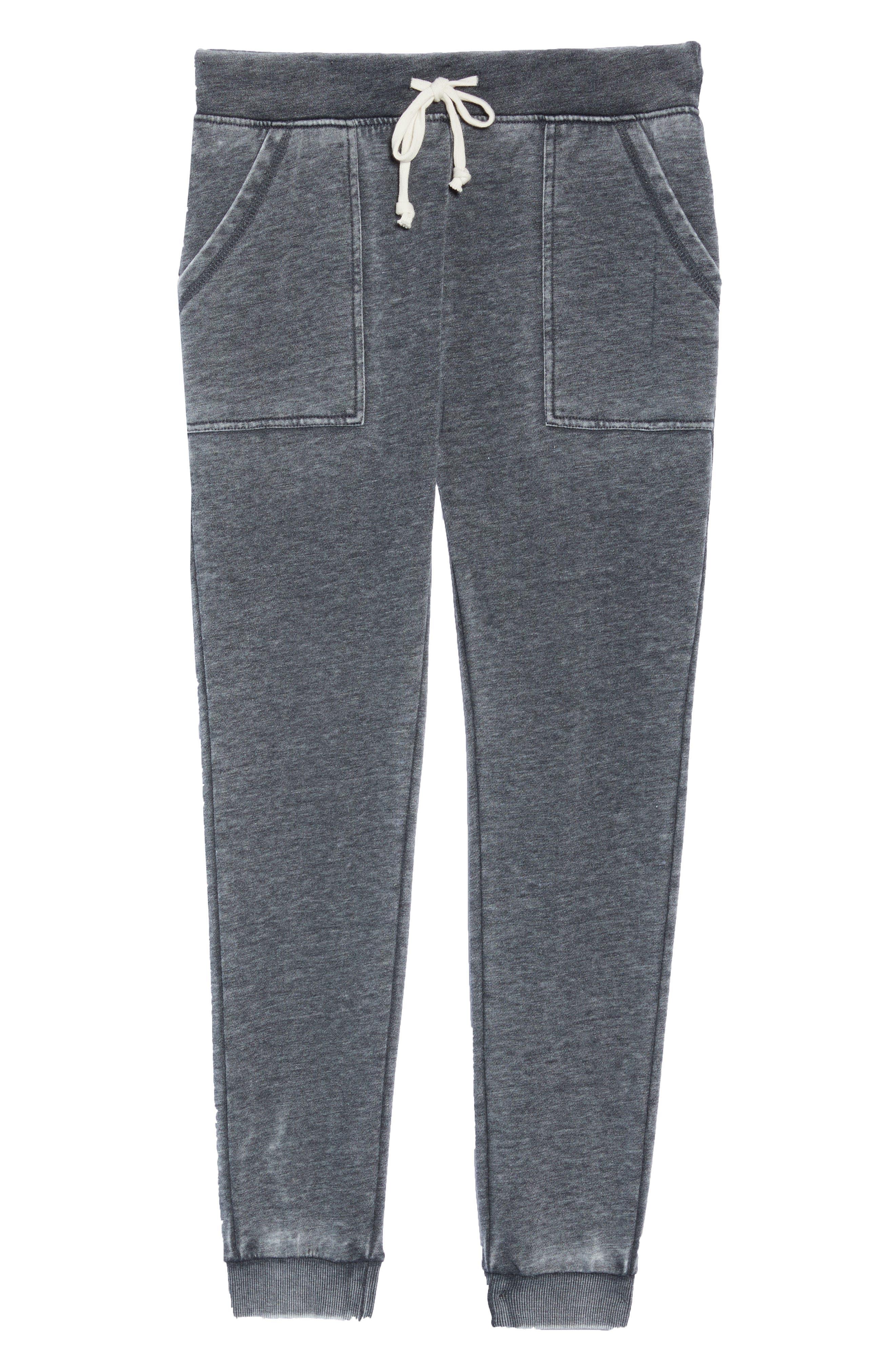 Long Weekend Pants,                             Alternate thumbnail 4, color,                             Washed Black