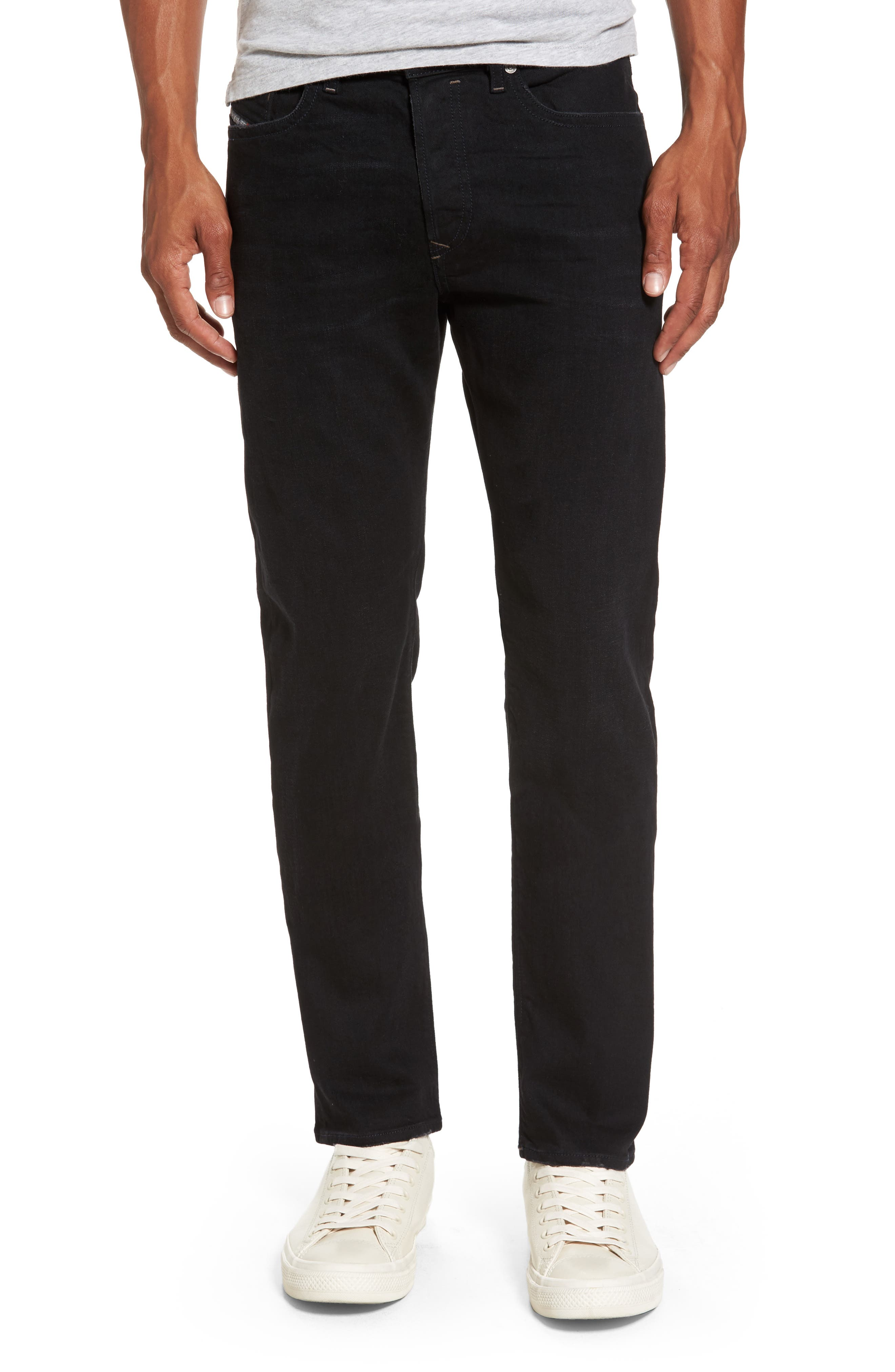 Buster Slim Straight Fit Jeans,                         Main,                         color, Denim