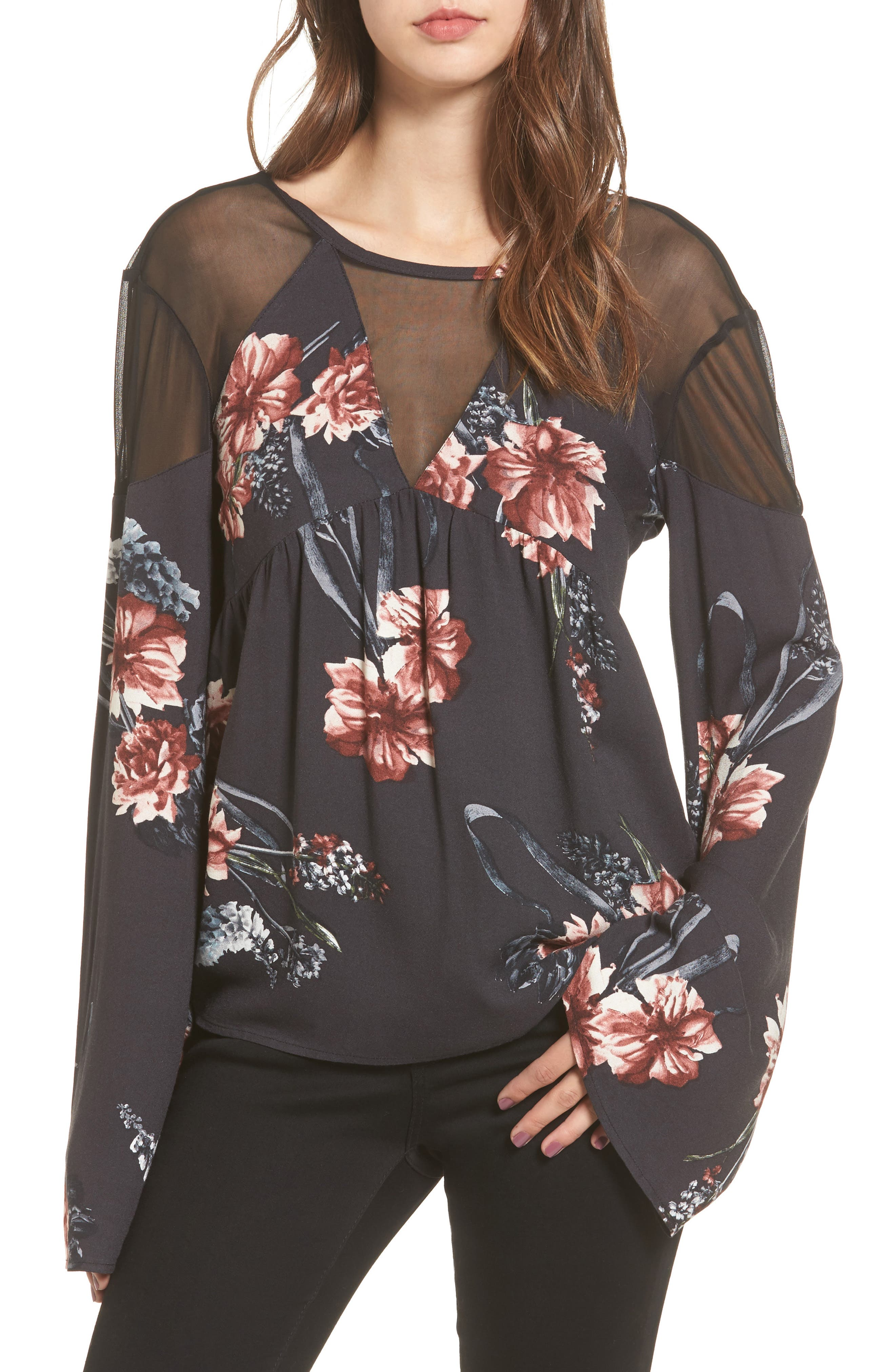 Somedays Lovin Homecoming Floral Blouse