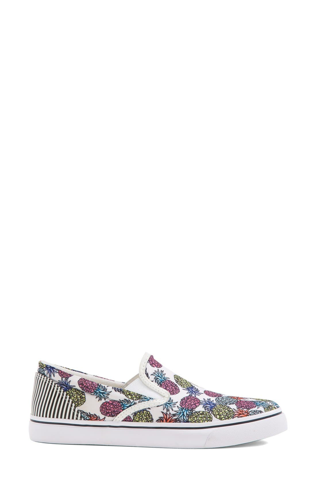 Alternate Image 4  - Sophia Webster 'Adele - Pineapple' Satin Slip-On Sneaker (Women)