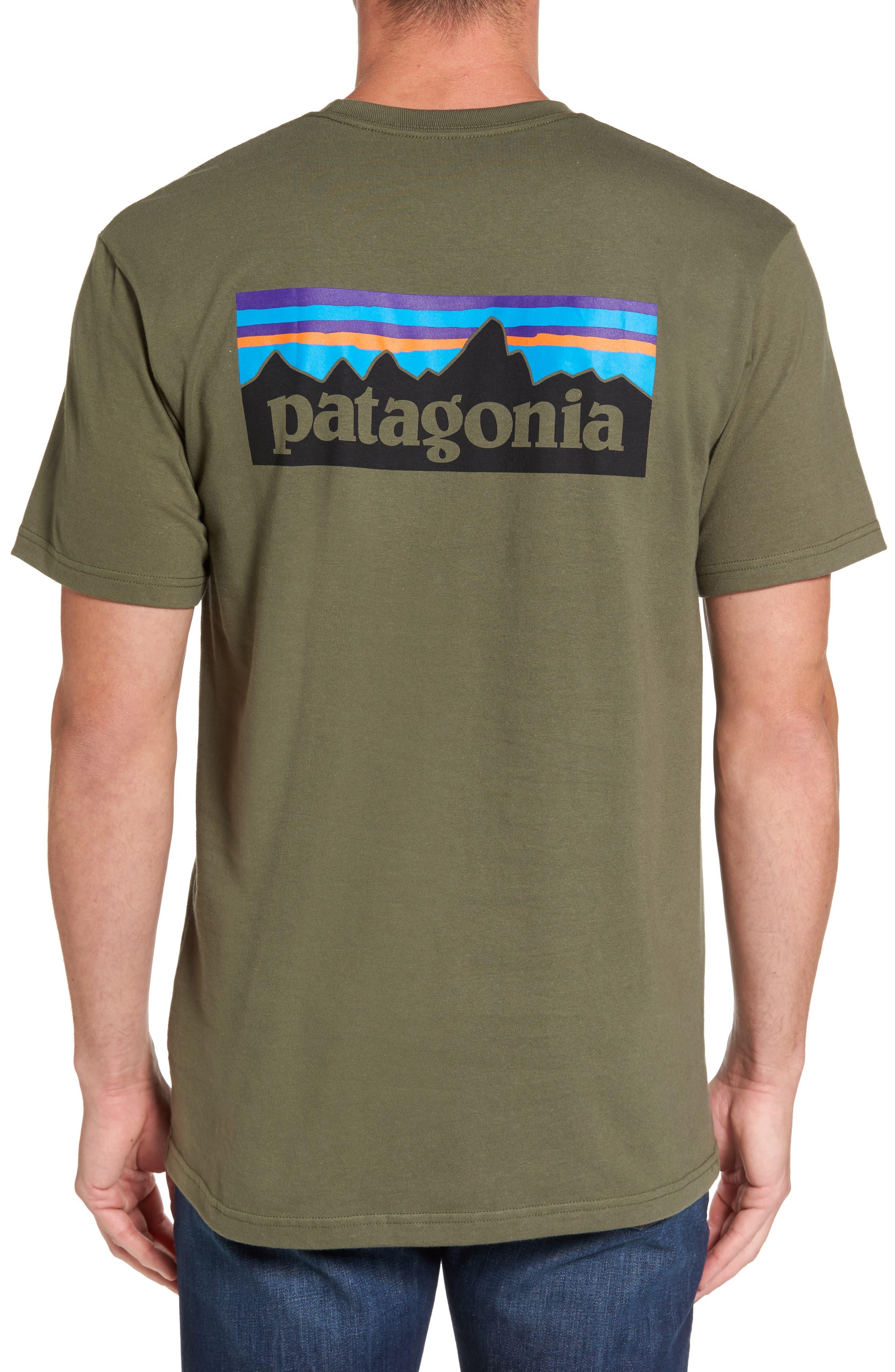 Alternate Image 1 Selected - Patagonia 'P-6 Logo' Organic Cotton T-Shirt