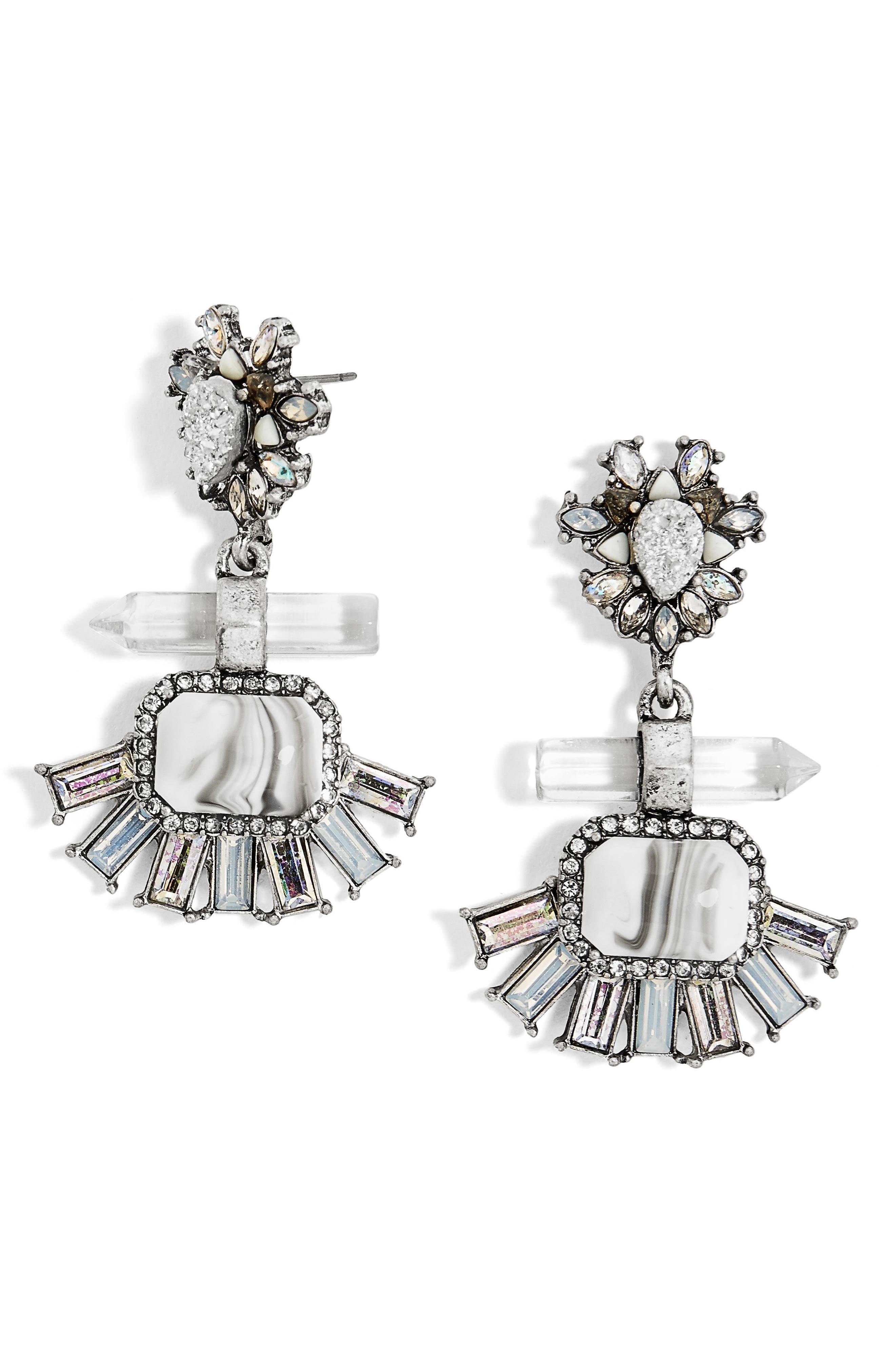 BAUBLEBAR Misty Drop Earrings