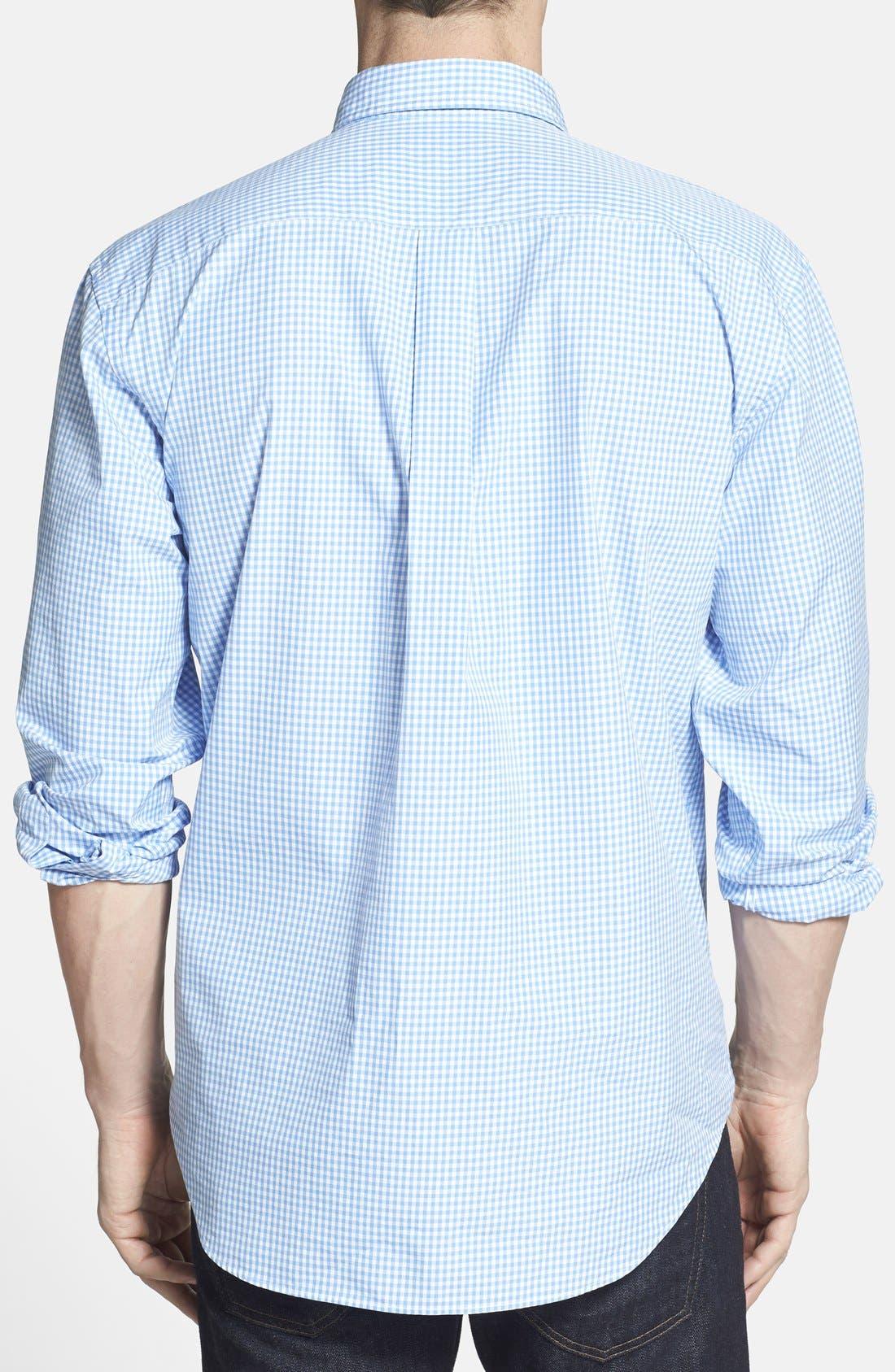Alternate Image 2  - Vineyard Vines 'Whale' Classic Fit Check Poplin Sport Shirt