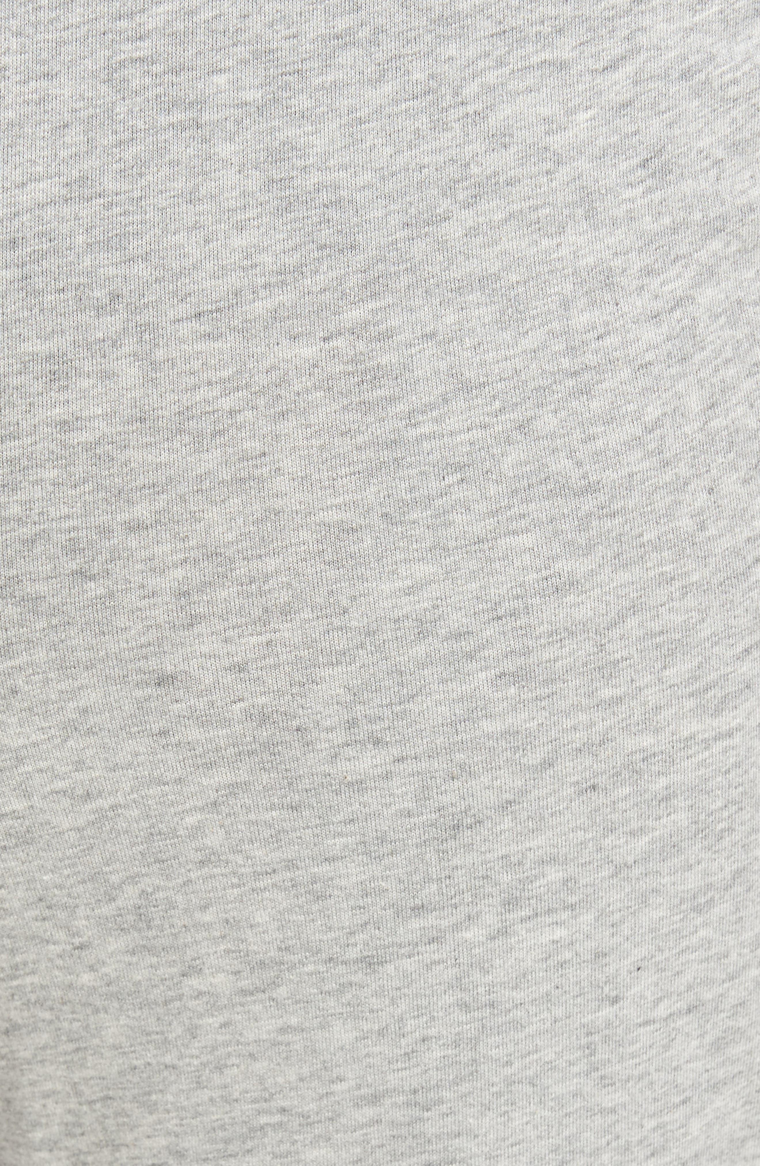 Cotton Jogger Lounge Pants,                             Alternate thumbnail 5, color,                             Andover Heather