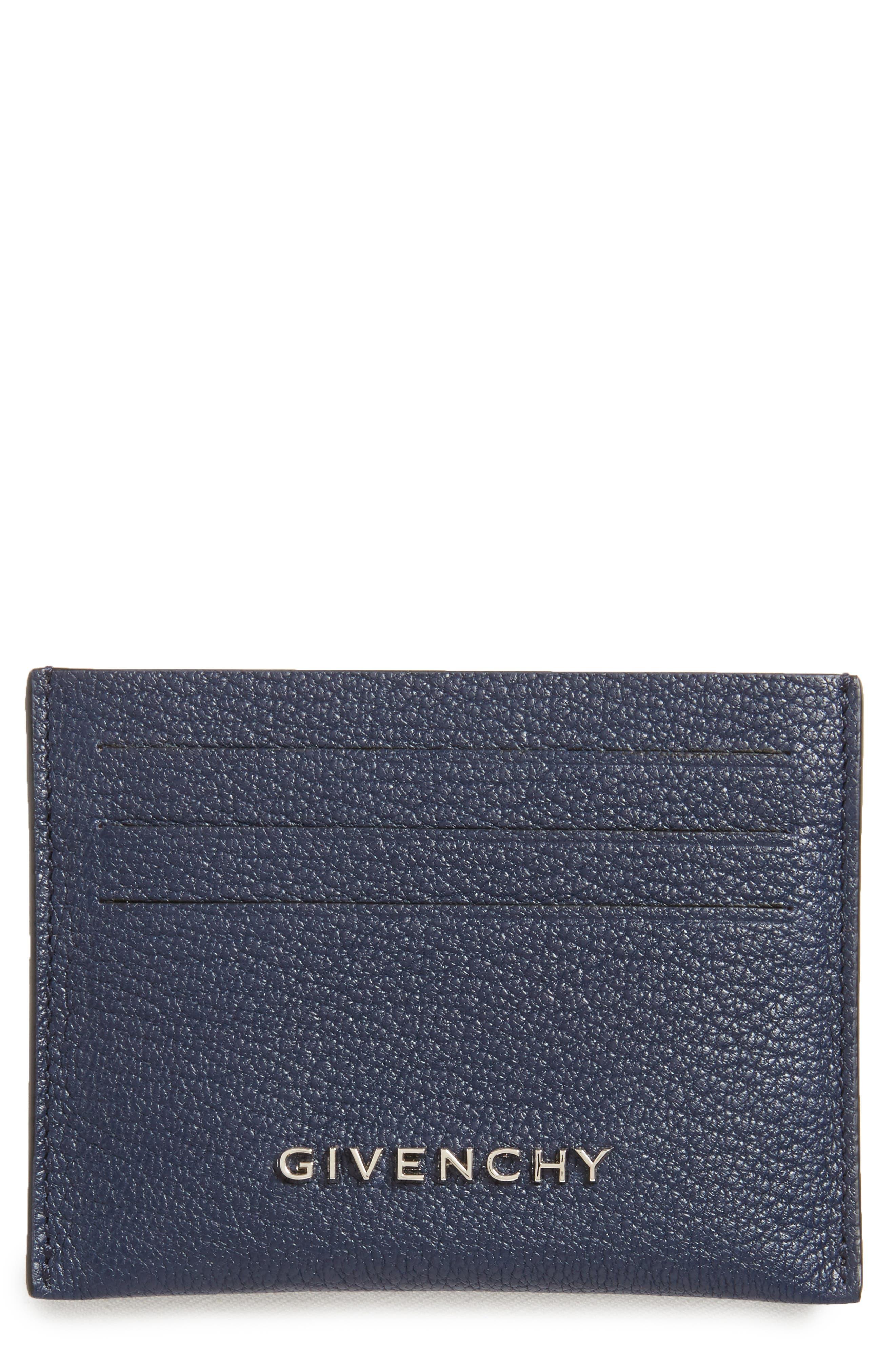 'Pandora' Card Case,                             Main thumbnail 1, color,                             Night Blue