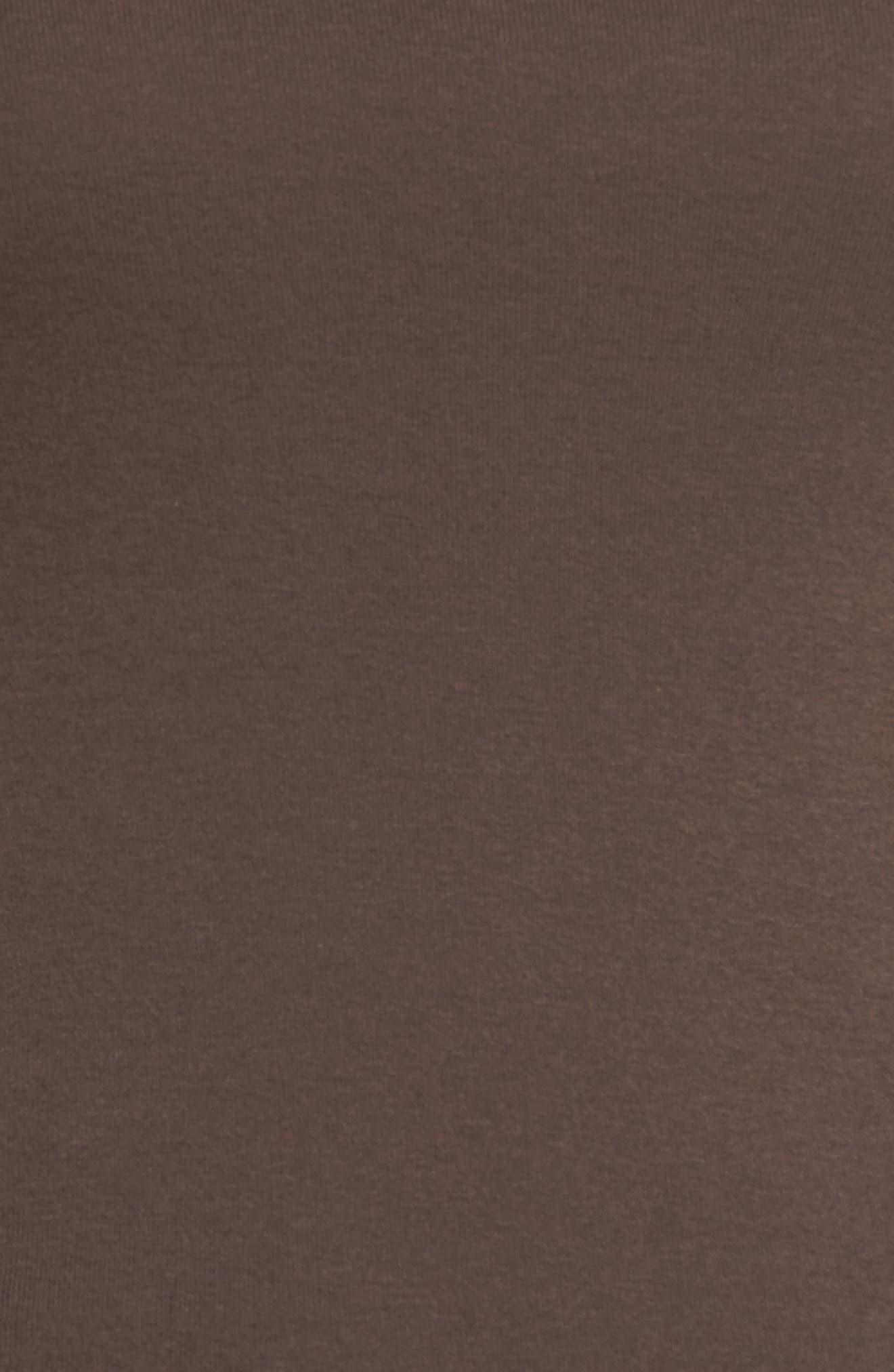Alternate Image 5  - Caslon® 'Melody' Long Sleeve Scoop Neck Tee (Regular & Petite)