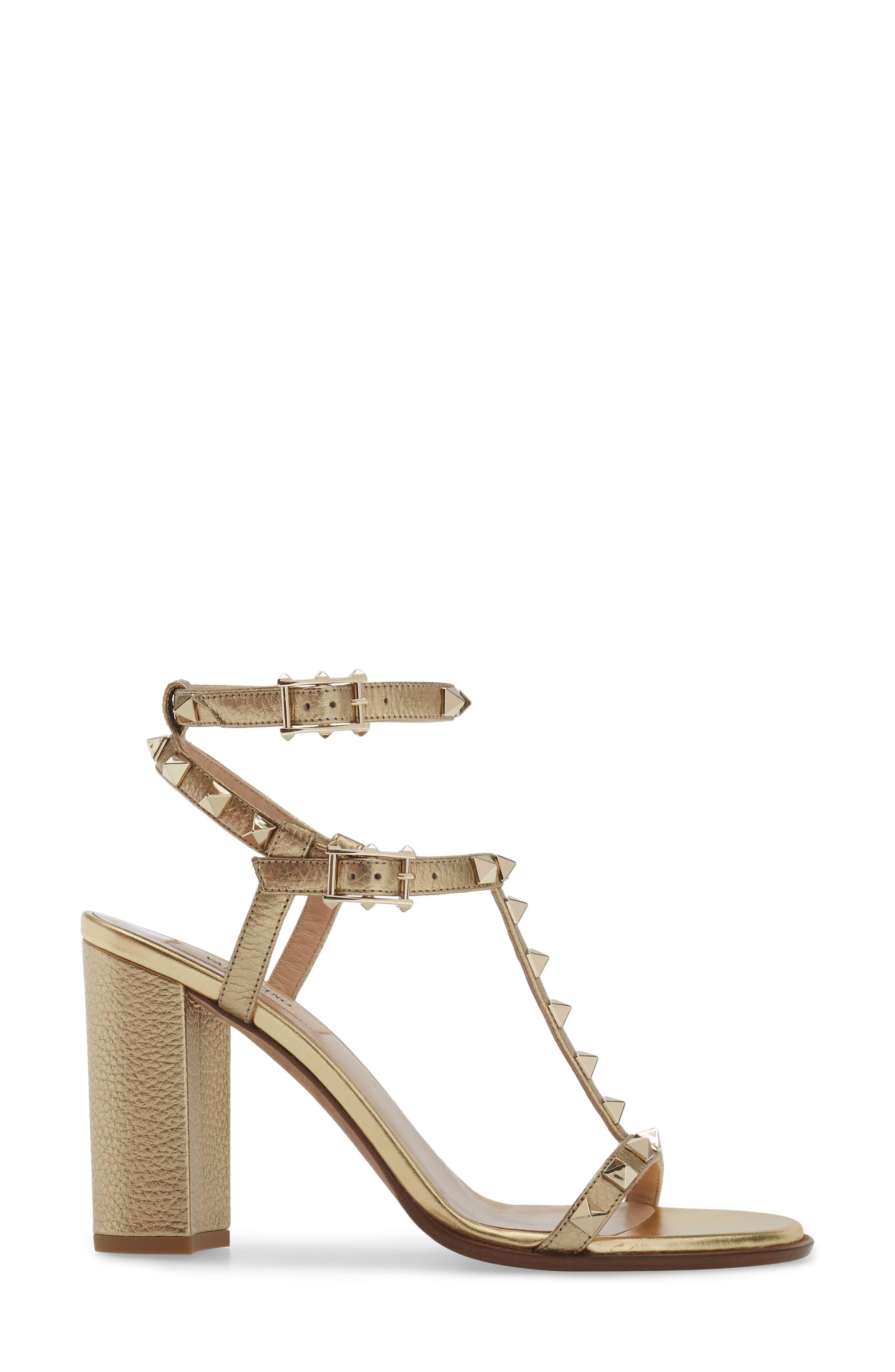 Alternate Image 3  - VALENTINO GARAVANI Rockstud Ankle Strap Sandal (Women)