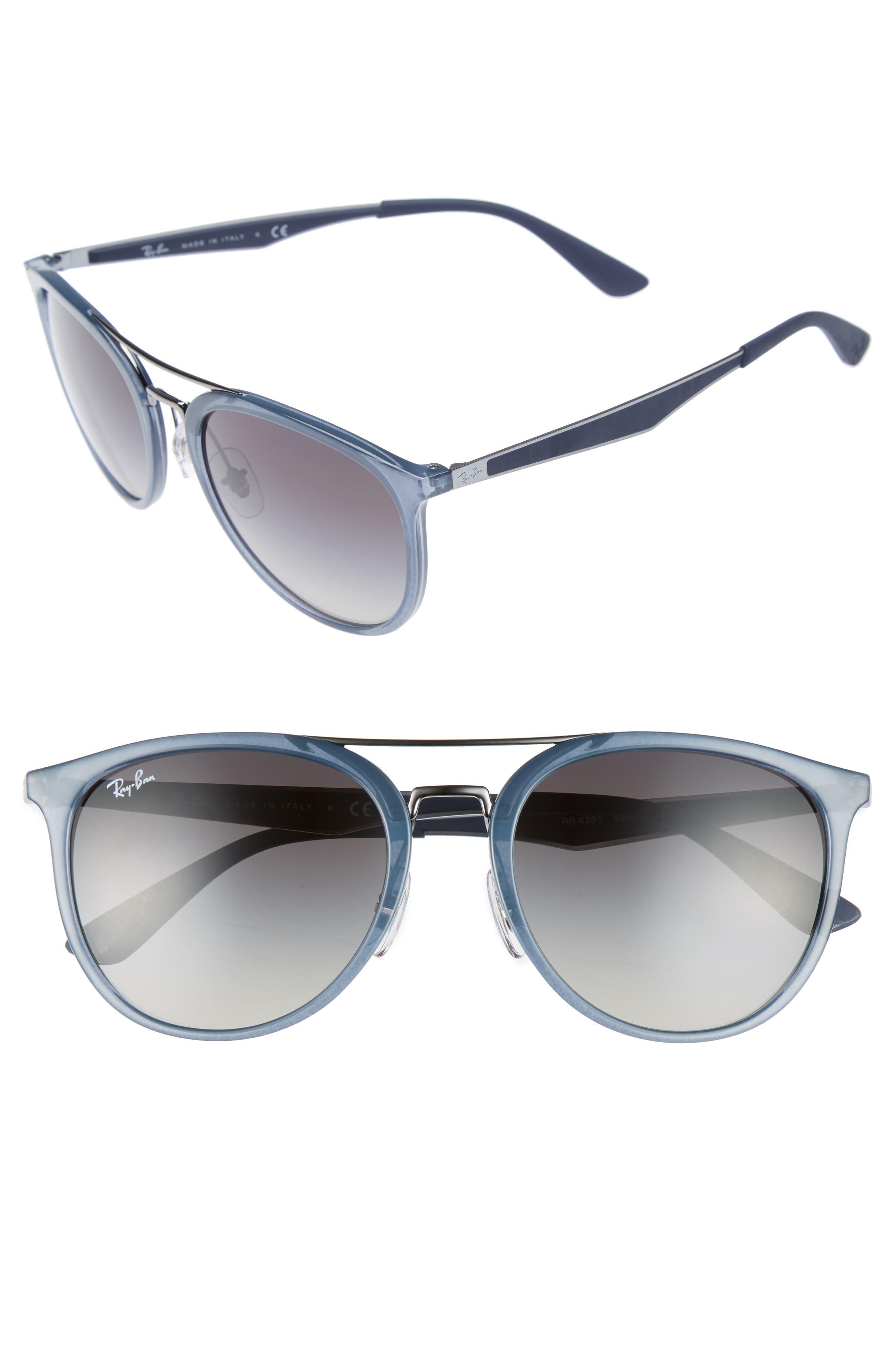 Alternate Image 1 Selected - Ray-Ban 55mm Gradient Lens Sunglasses
