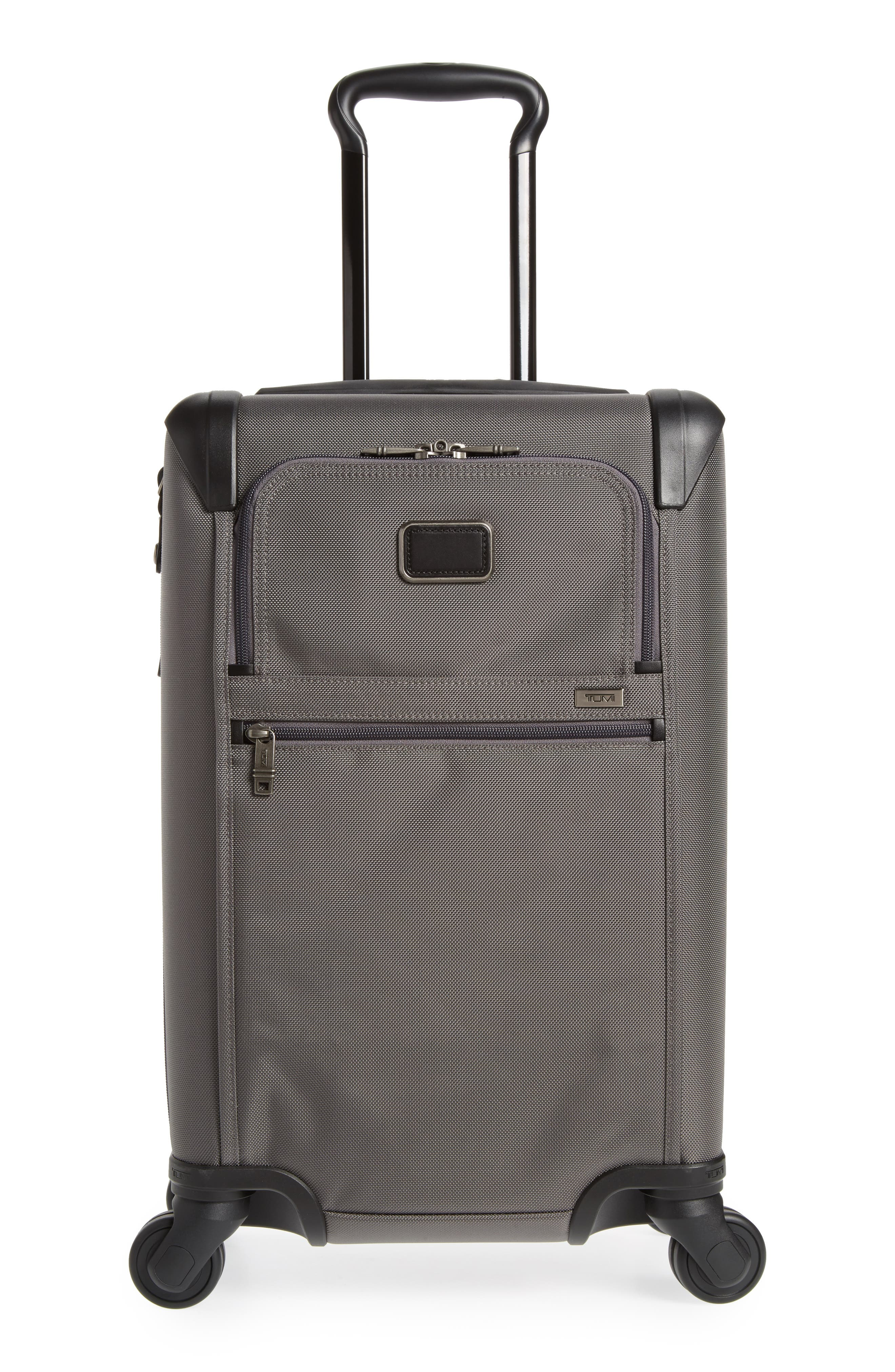 Alpha Bravo Rolling 22-Inch Carry-On,                         Main,                         color, Castle Grey