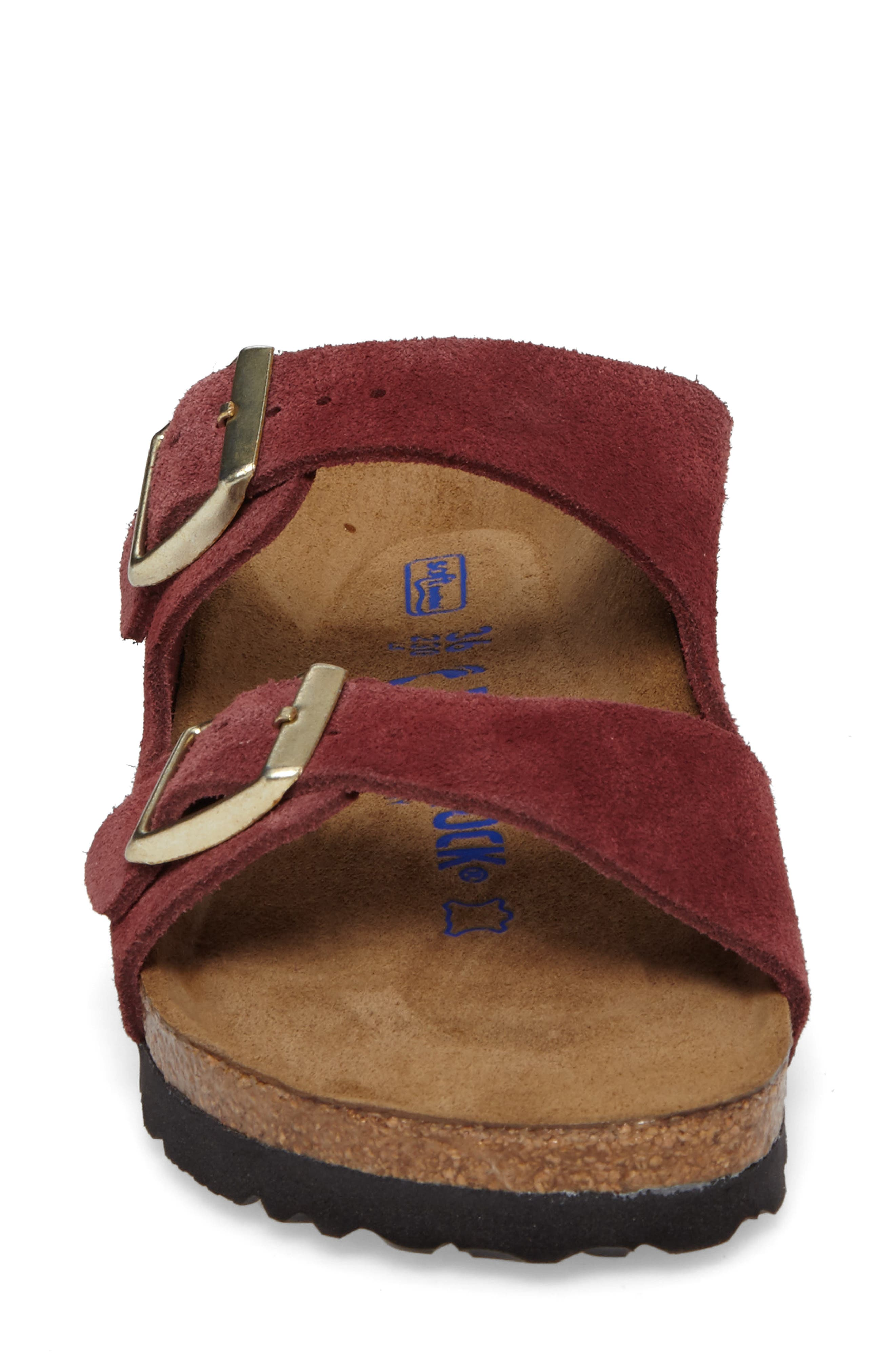Alternate Image 4  - Birkenstock 'Arizona' Soft Footbed Suede Sandal (Women)