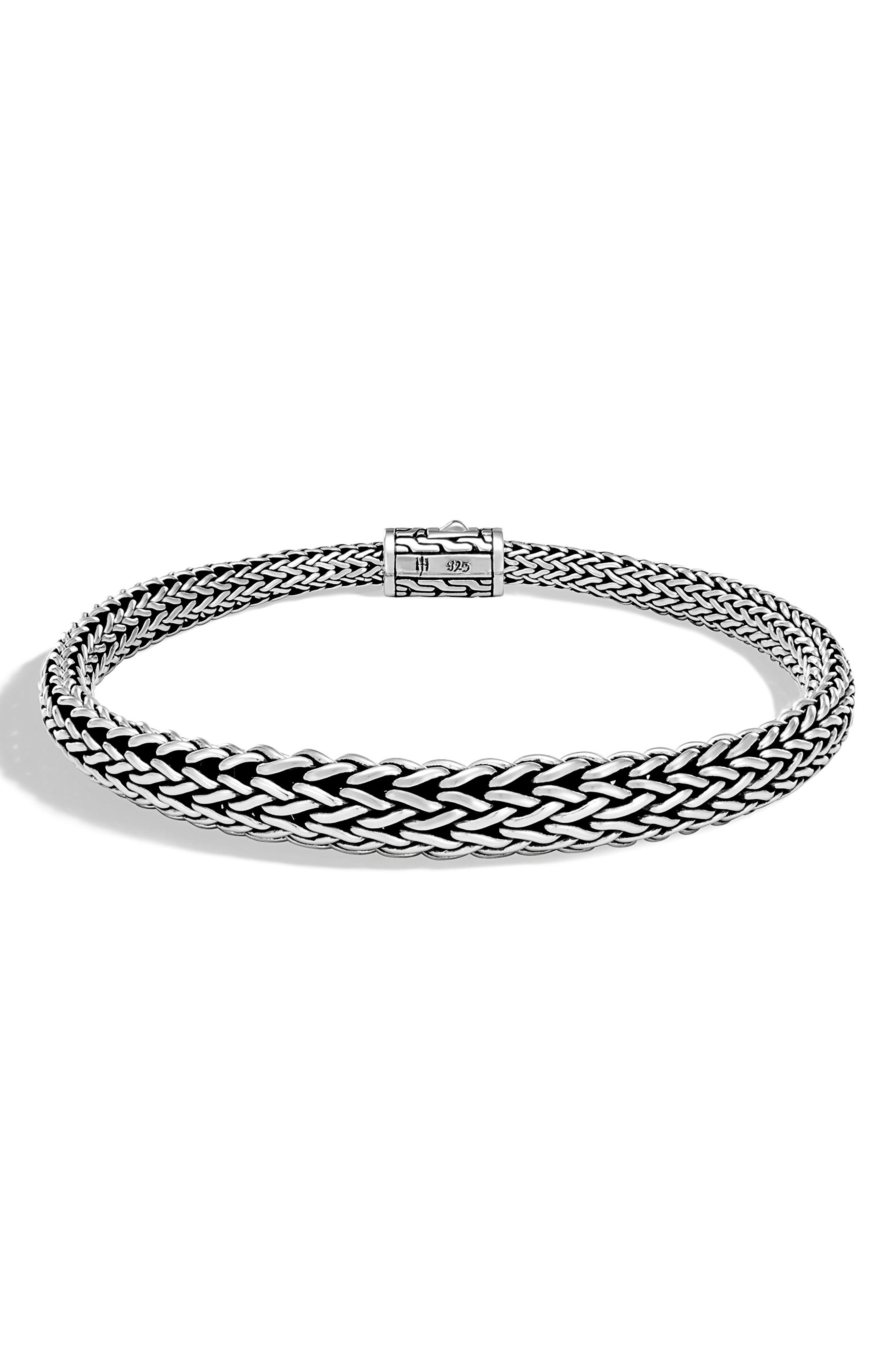 Classic Chain Wrist Cuff,                         Main,                         color, Silver
