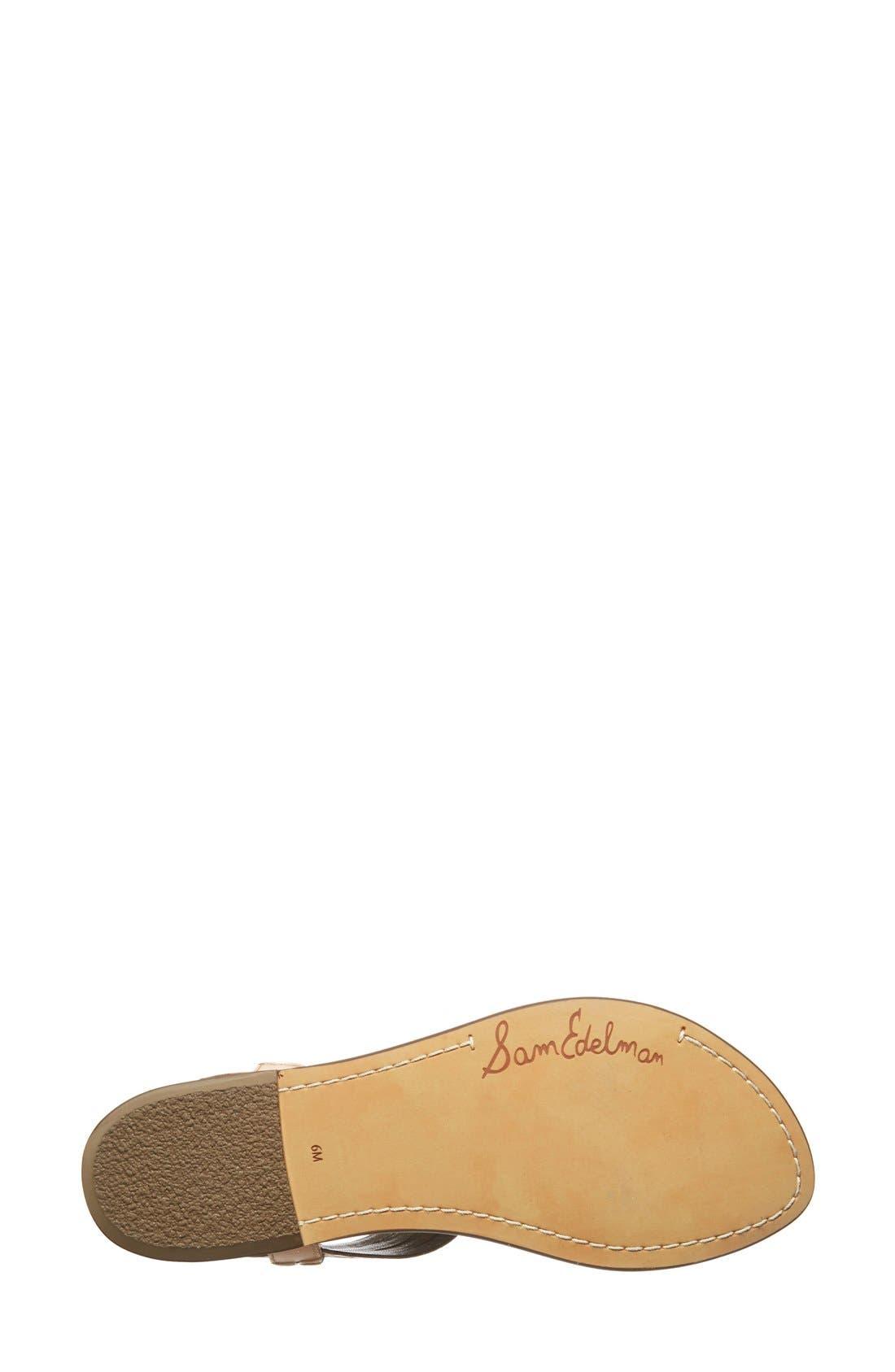 Alternate Image 4  - Sam Edelman 'Galina' Crystal Embellished Sandal (Women)