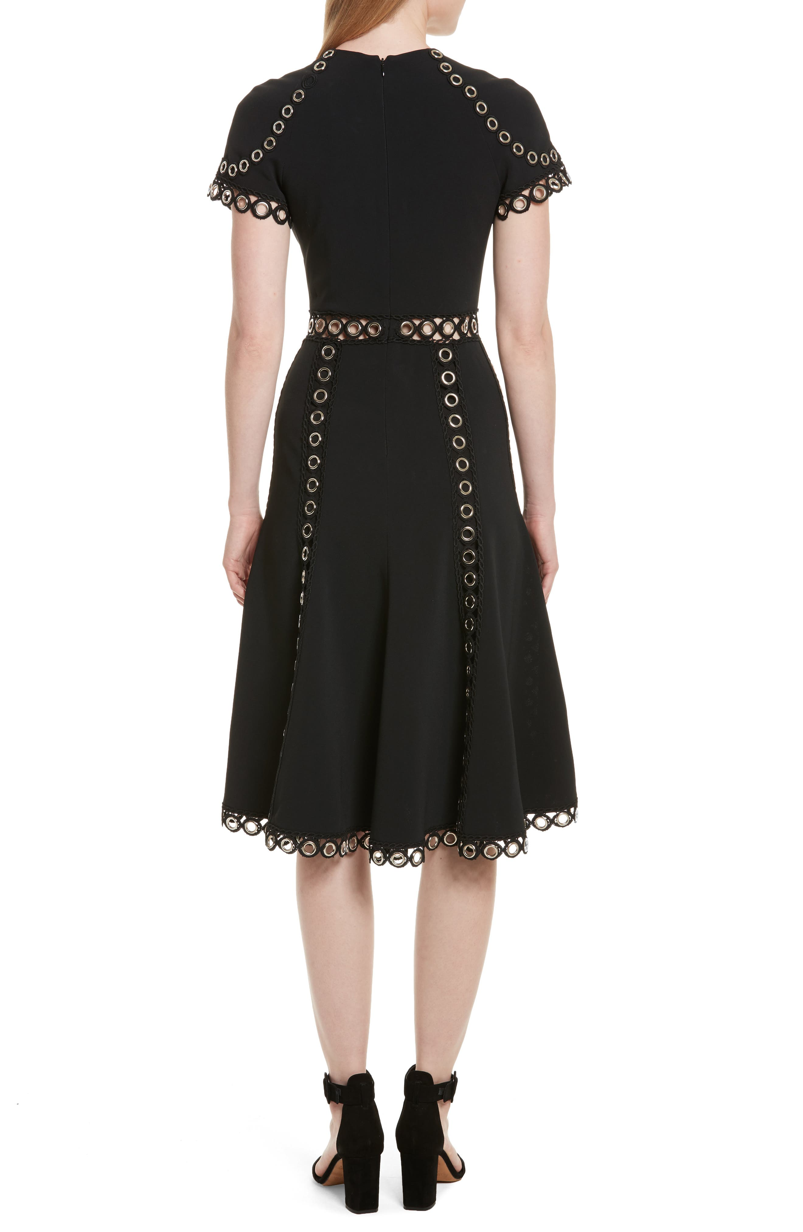 Alternate Image 2  - Jonathan Simkhai Grommet Fit & Flare Dress
