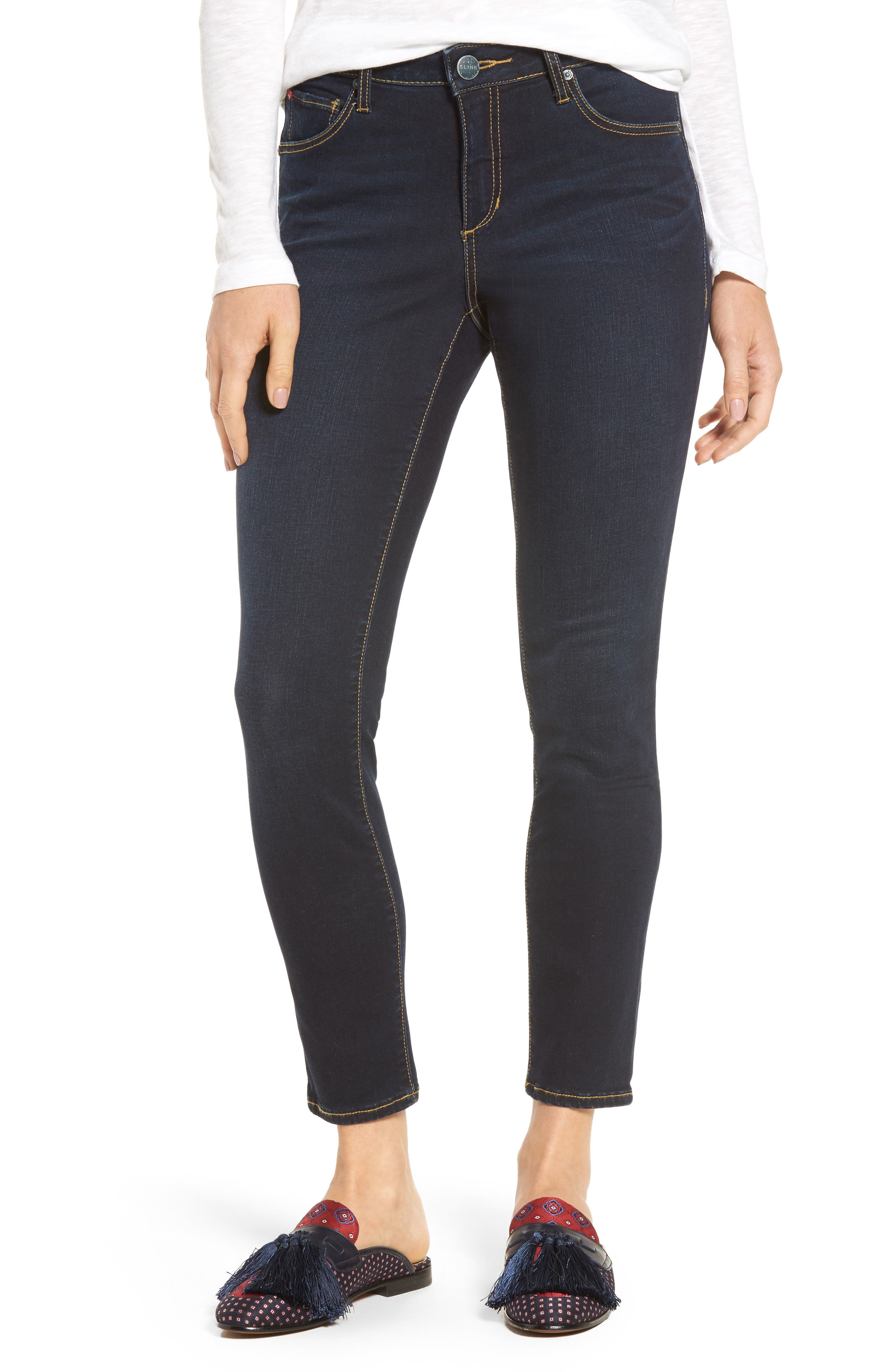 Ankle Skinny Jeans,                             Main thumbnail 1, color,                             Summer
