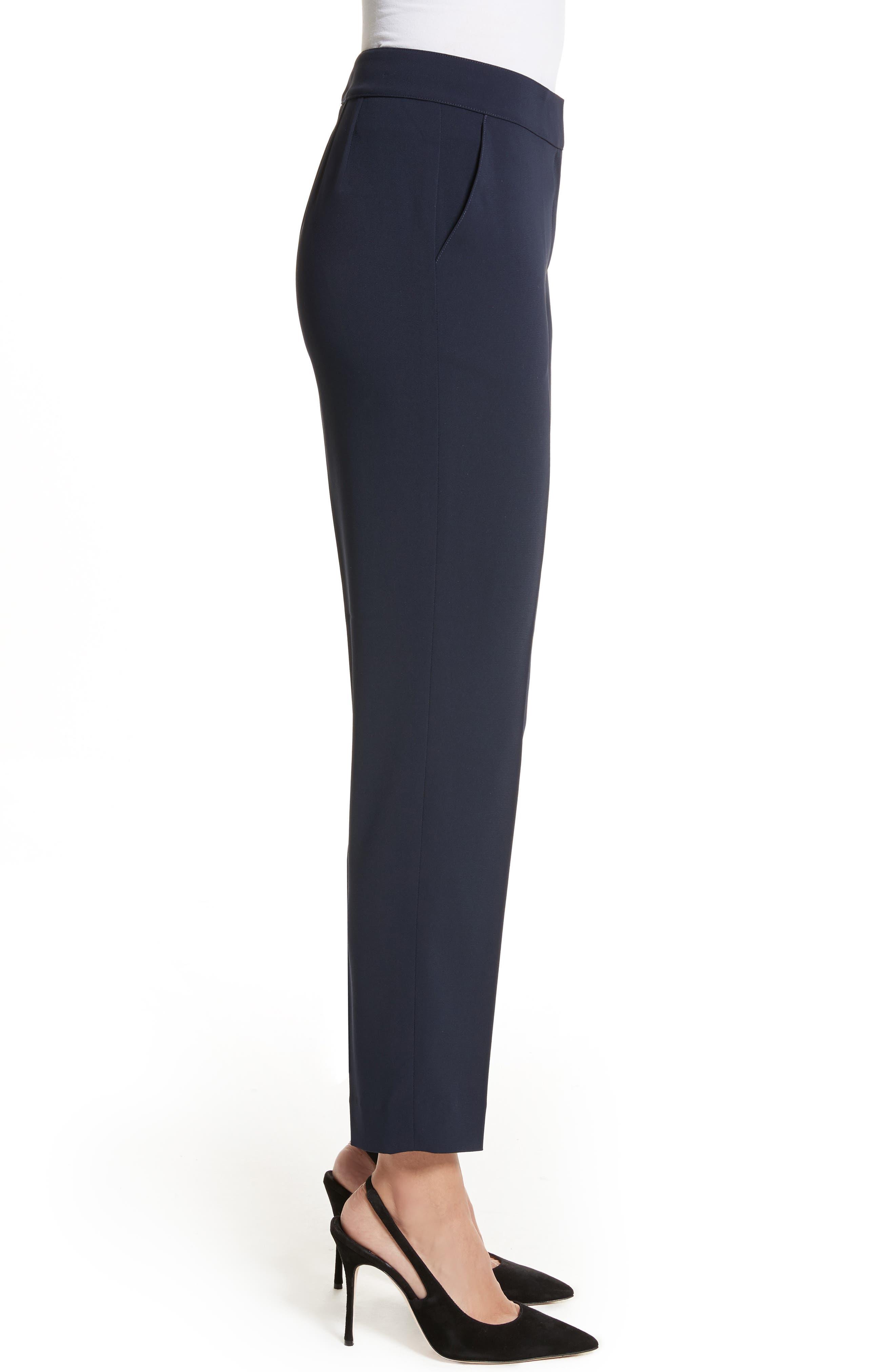 Emma Classic Cady Pants,                             Alternate thumbnail 3, color,                             Navy