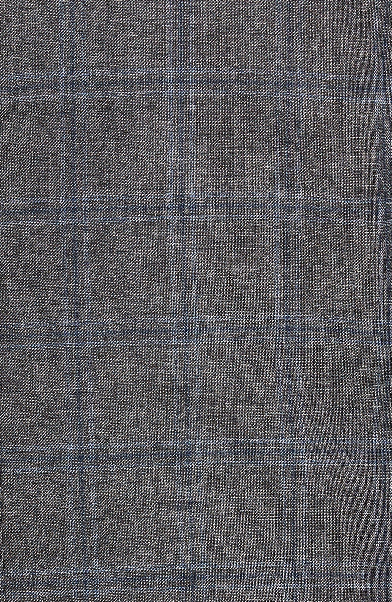 Alternate Image 5  - BOSS Jeen Trim Fit Wool Sport Coat