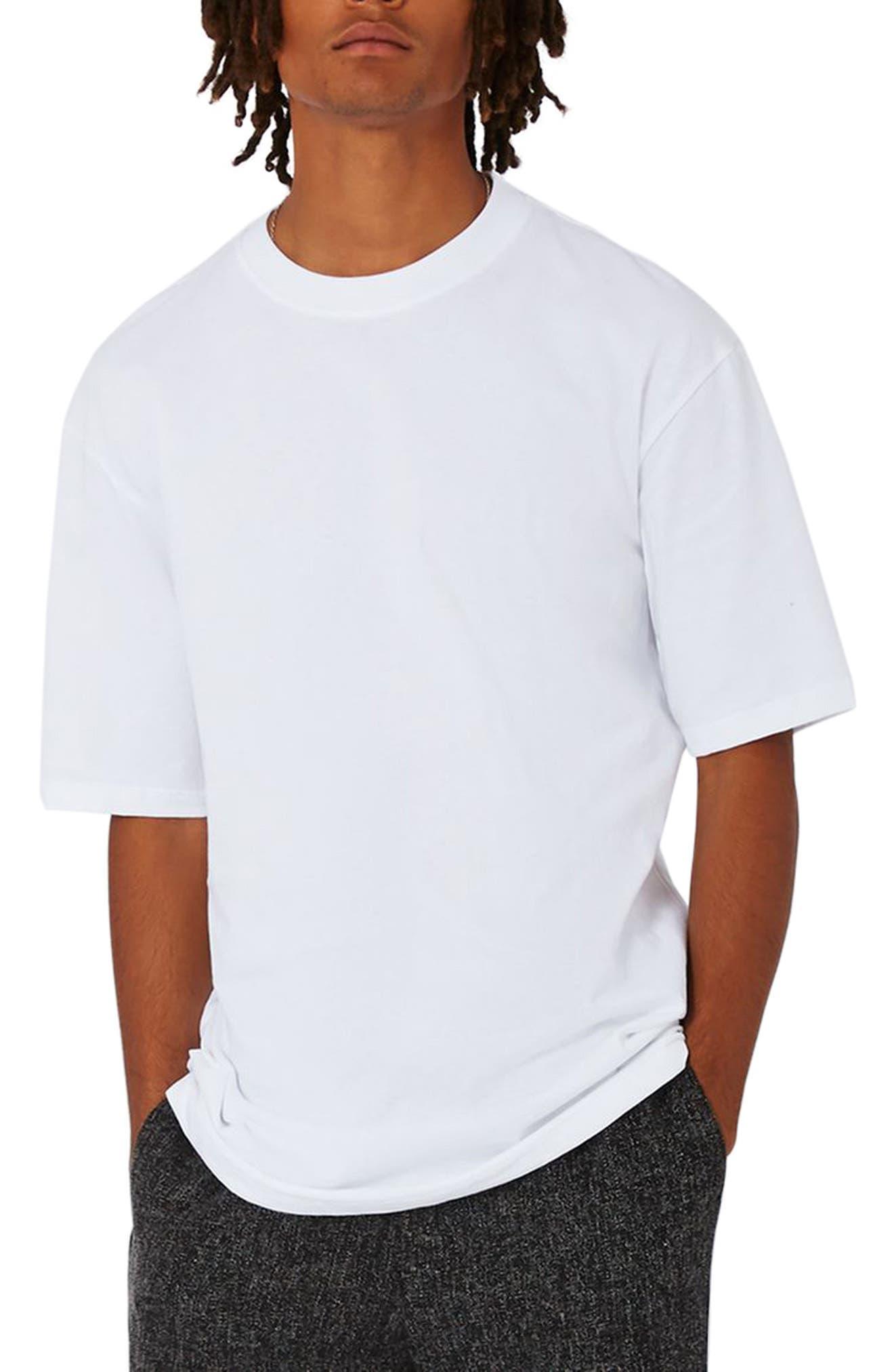 Oversize T-Shirt,                             Main thumbnail 1, color,                             White