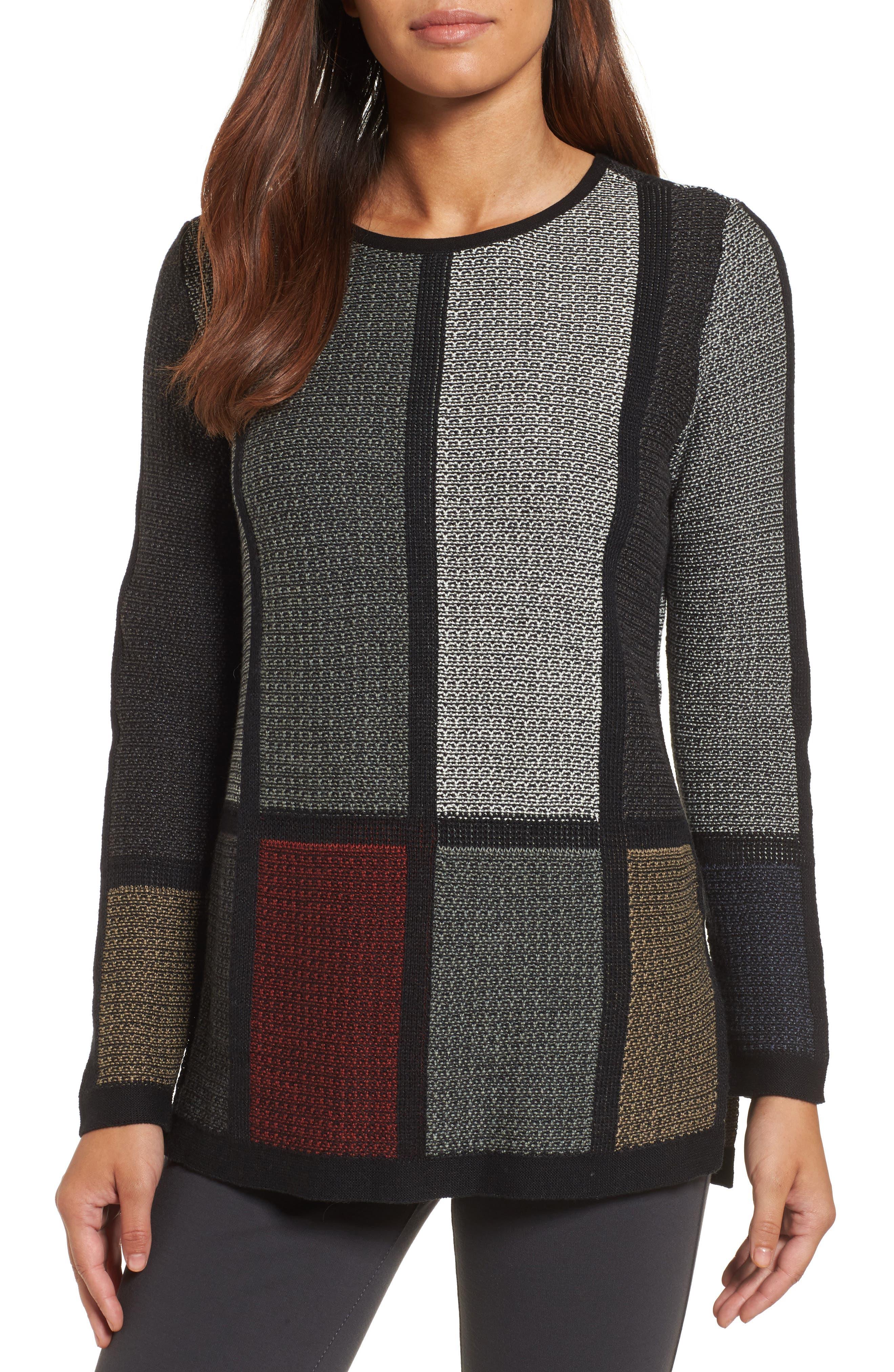 NIC+ZOE Around the Block Sweater (Regular & Petite)