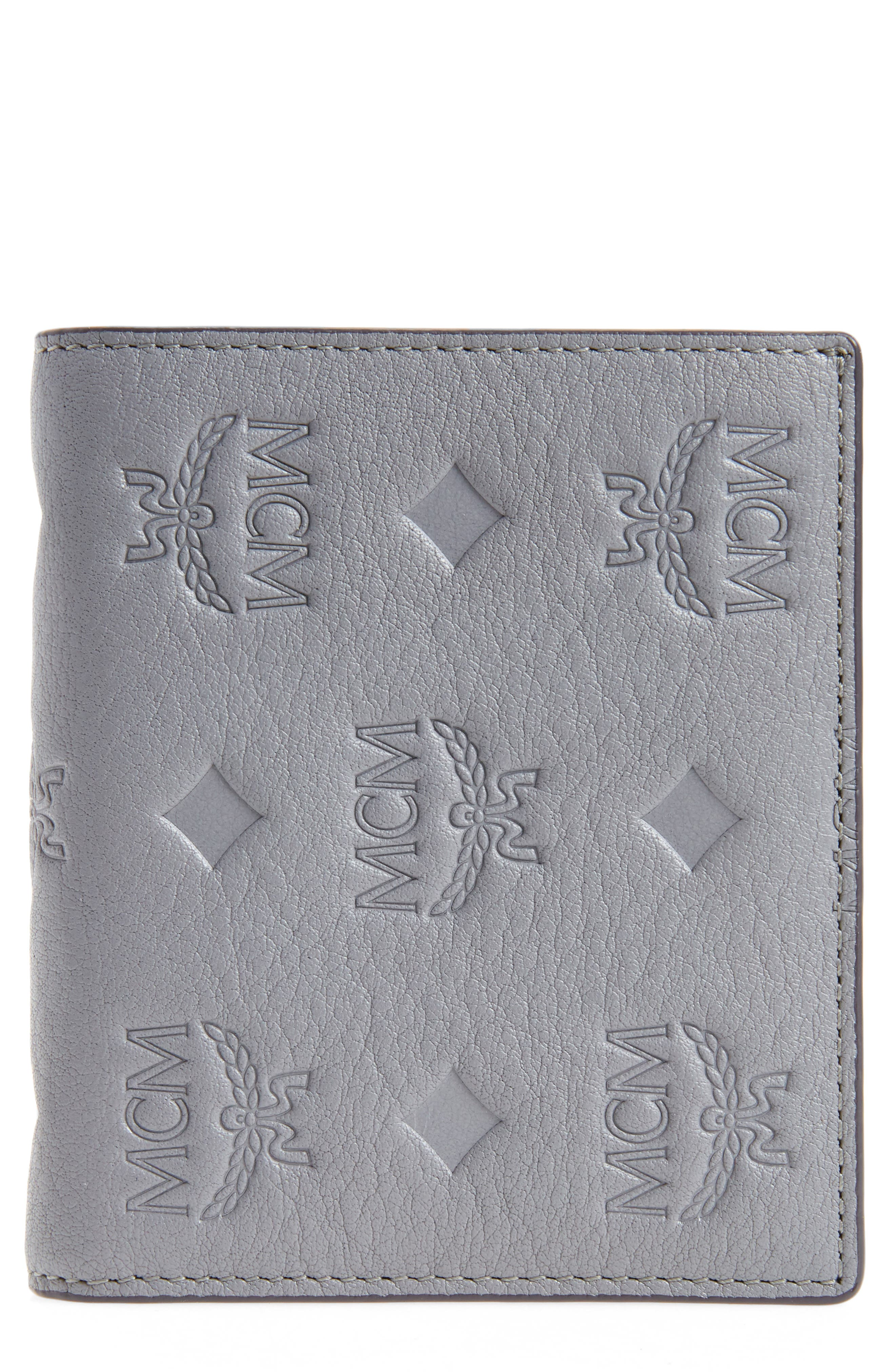 MCM Klara Leather Bifold Wallet
