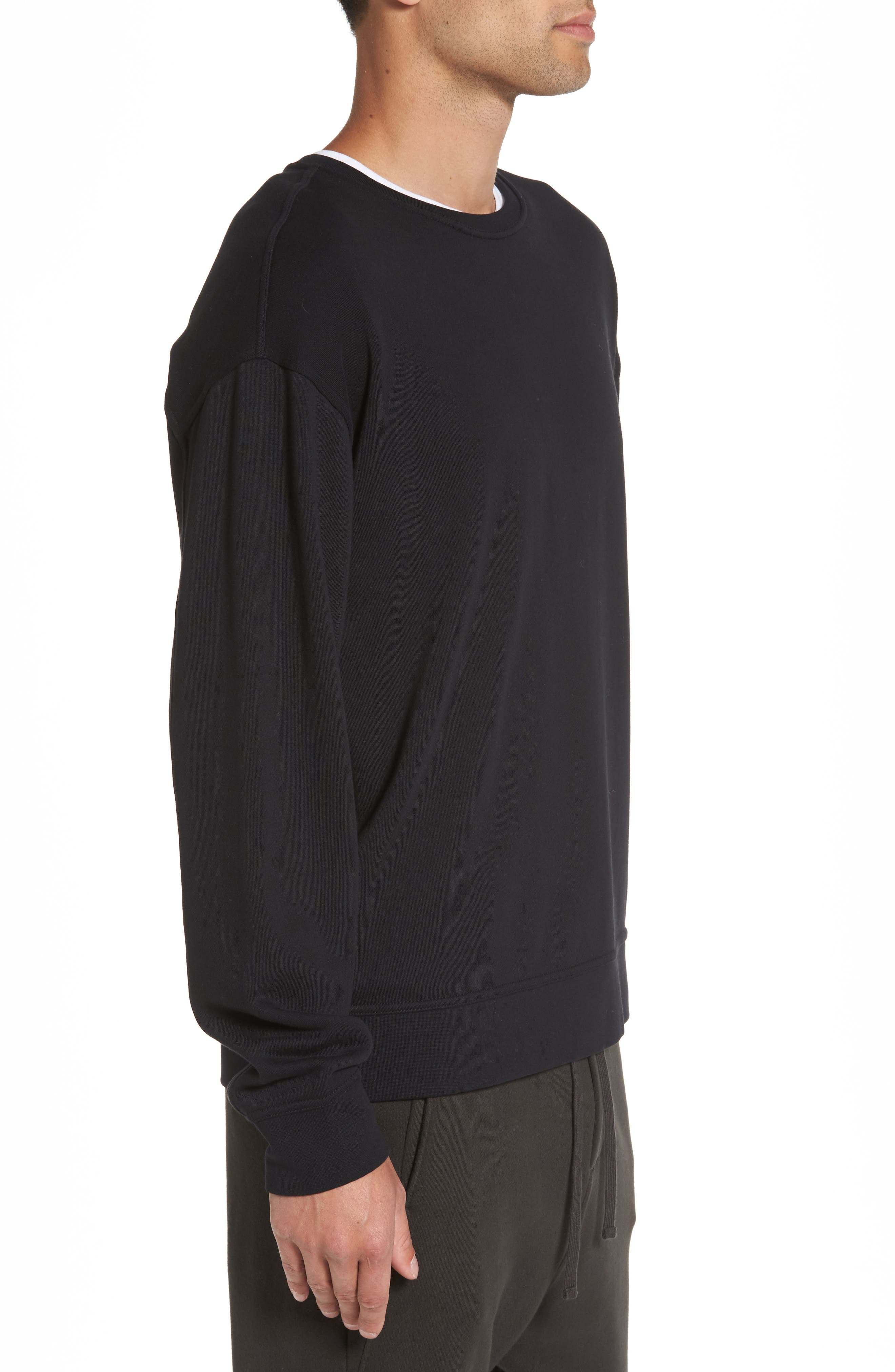Alternate Image 3  - Vince Crewneck Sweatshirt