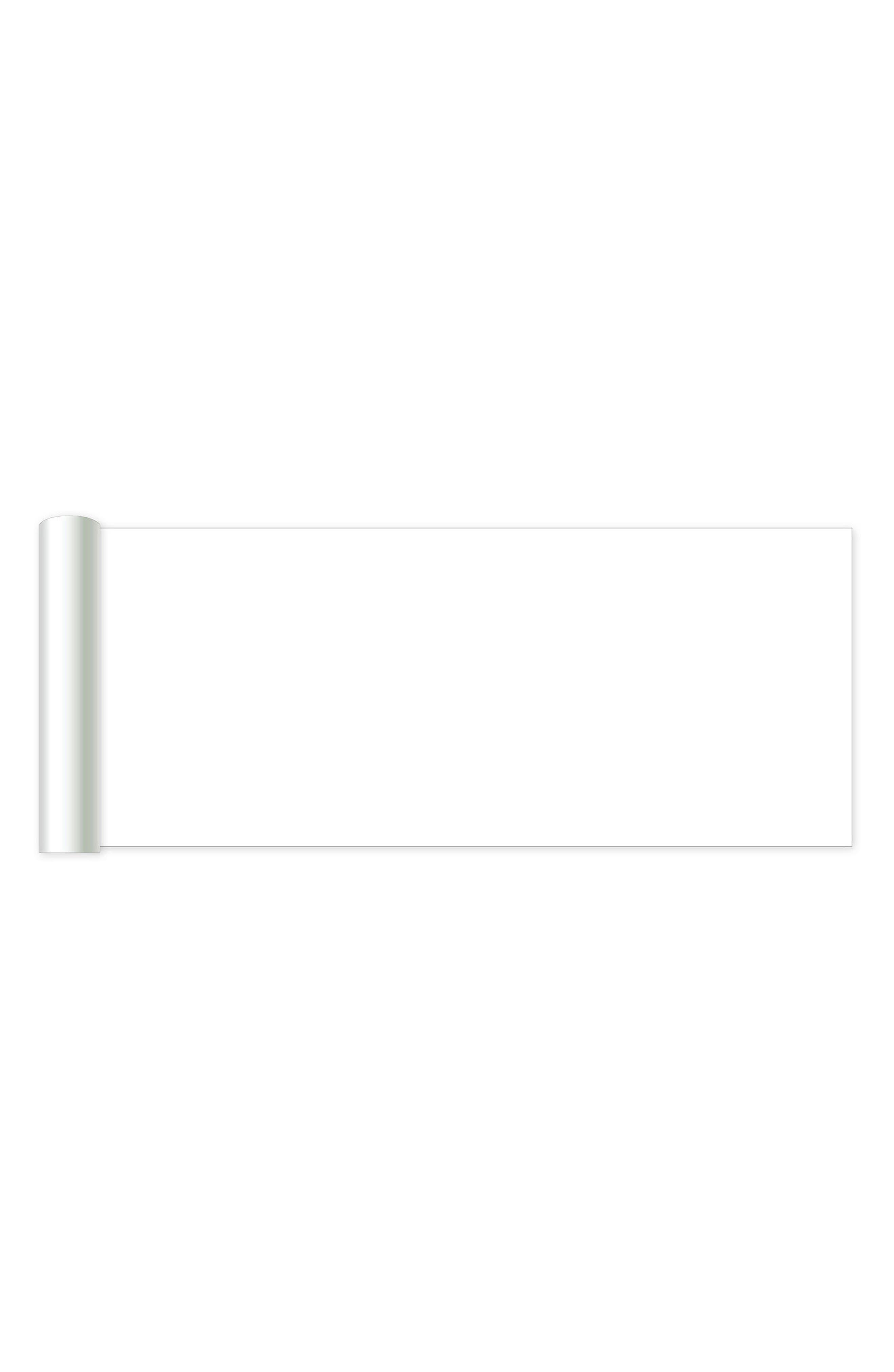 Peel & Stick Dry Erase Board,                             Alternate thumbnail 2, color,                             White Off-White