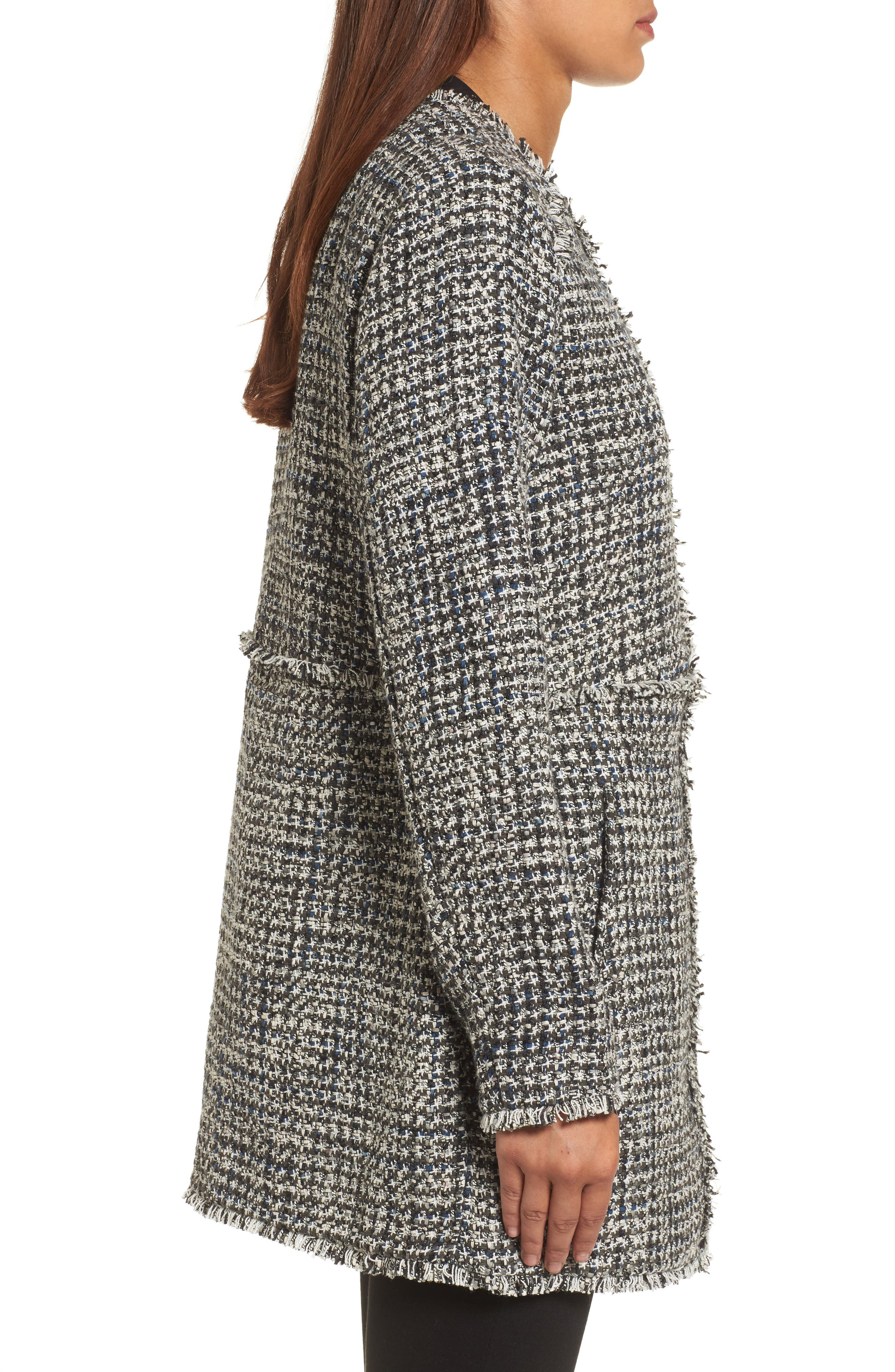 Alternate Image 3  - NIC + Zoe Speckled Tweed Jacket
