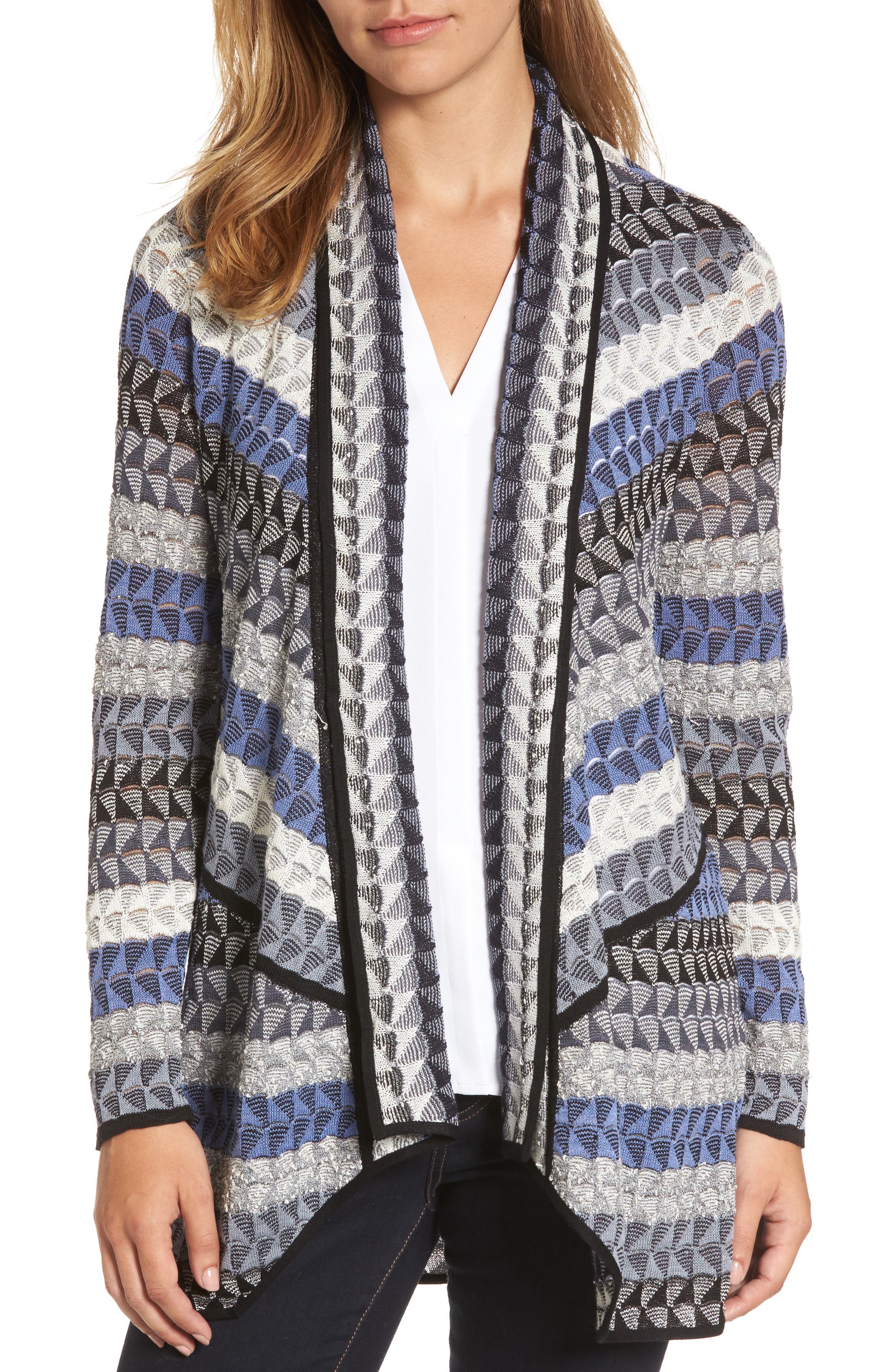 NIC+ZOE Triangle Bliss Cardigan (Regular & Petite)
