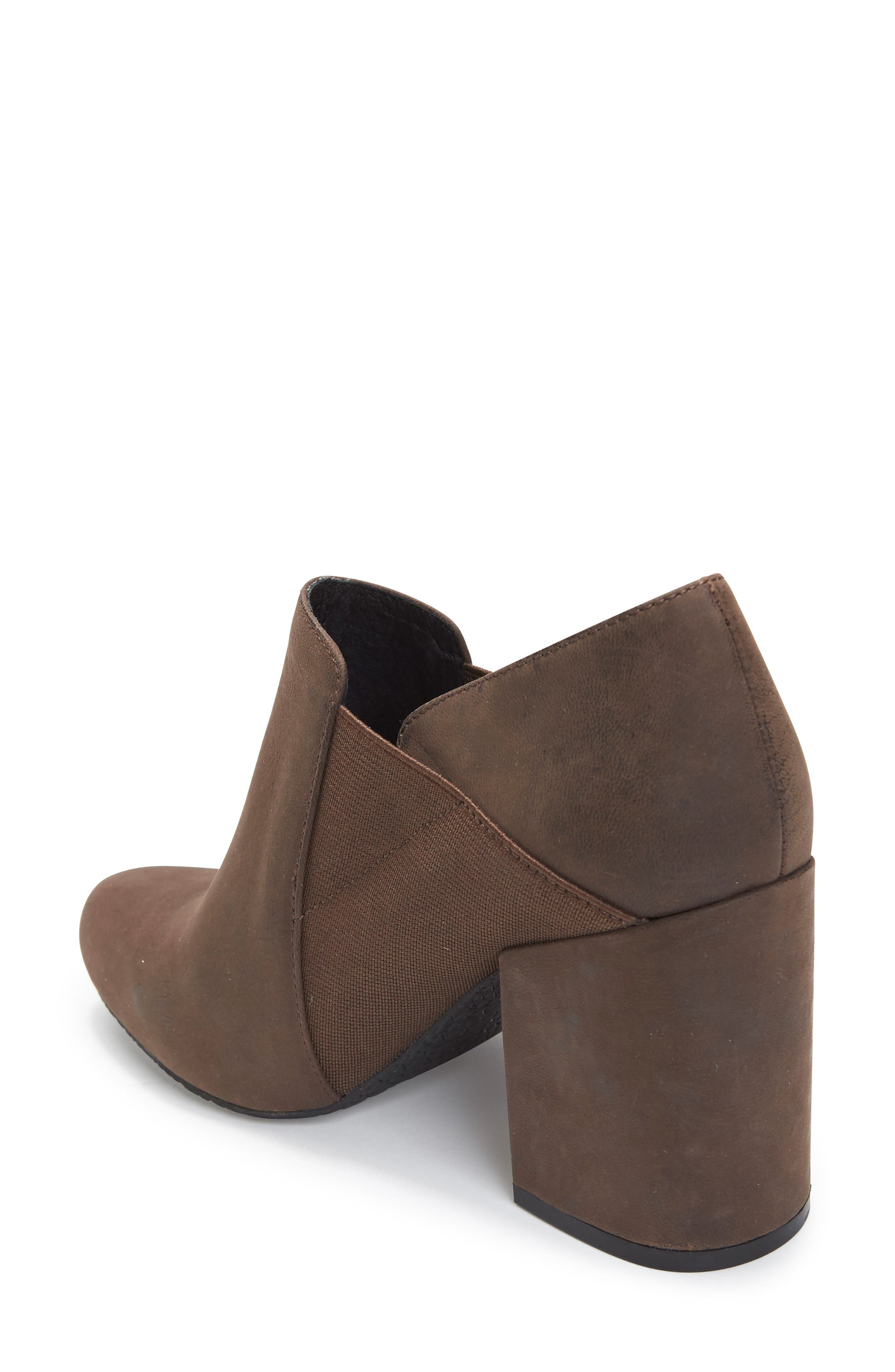 Zayna Bootie,                             Alternate thumbnail 2, color,                             Cuban Brown Leather