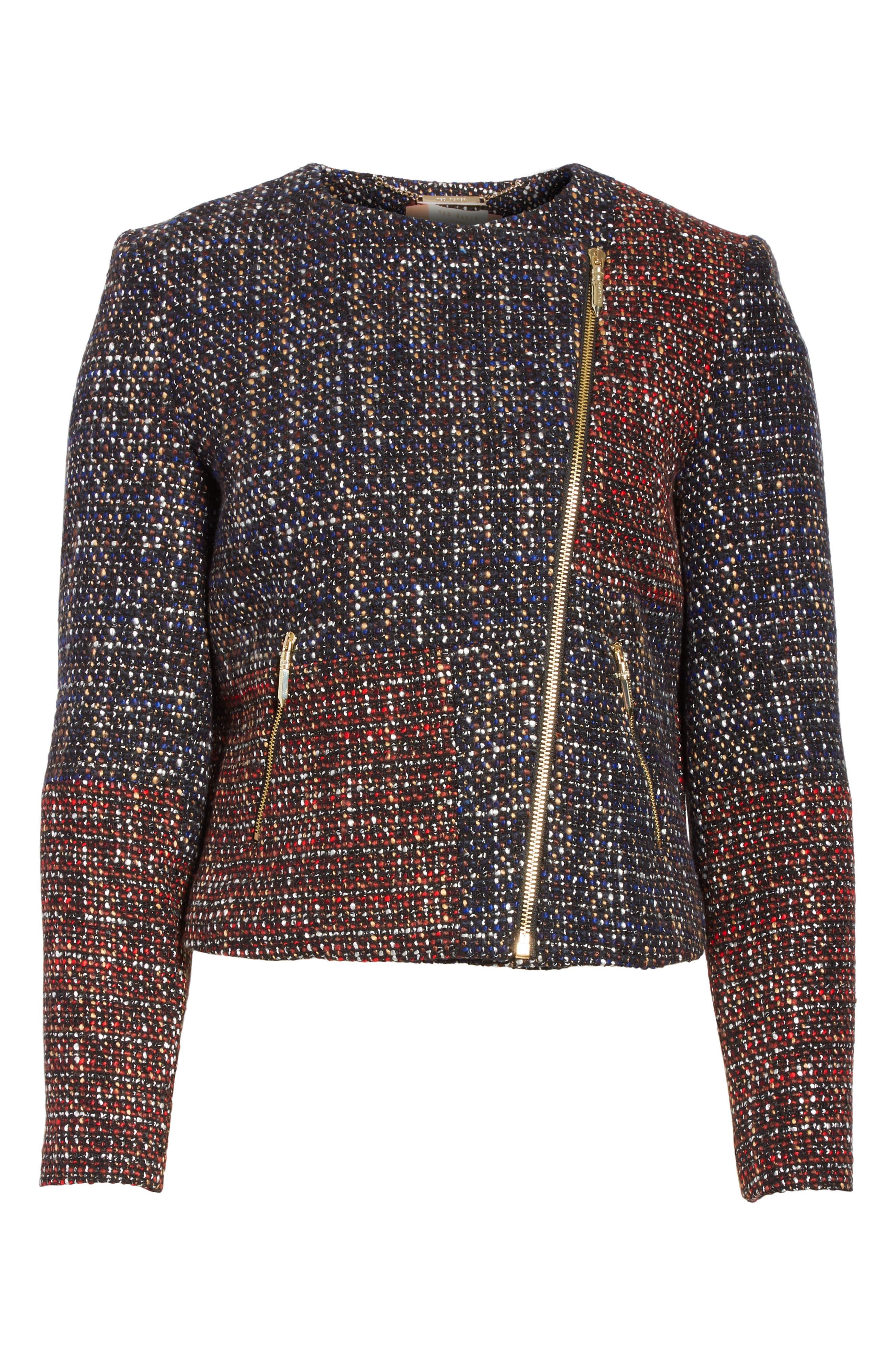 Alternate Image 6  - Ted Baker London Phebbe Patchwork Jacket