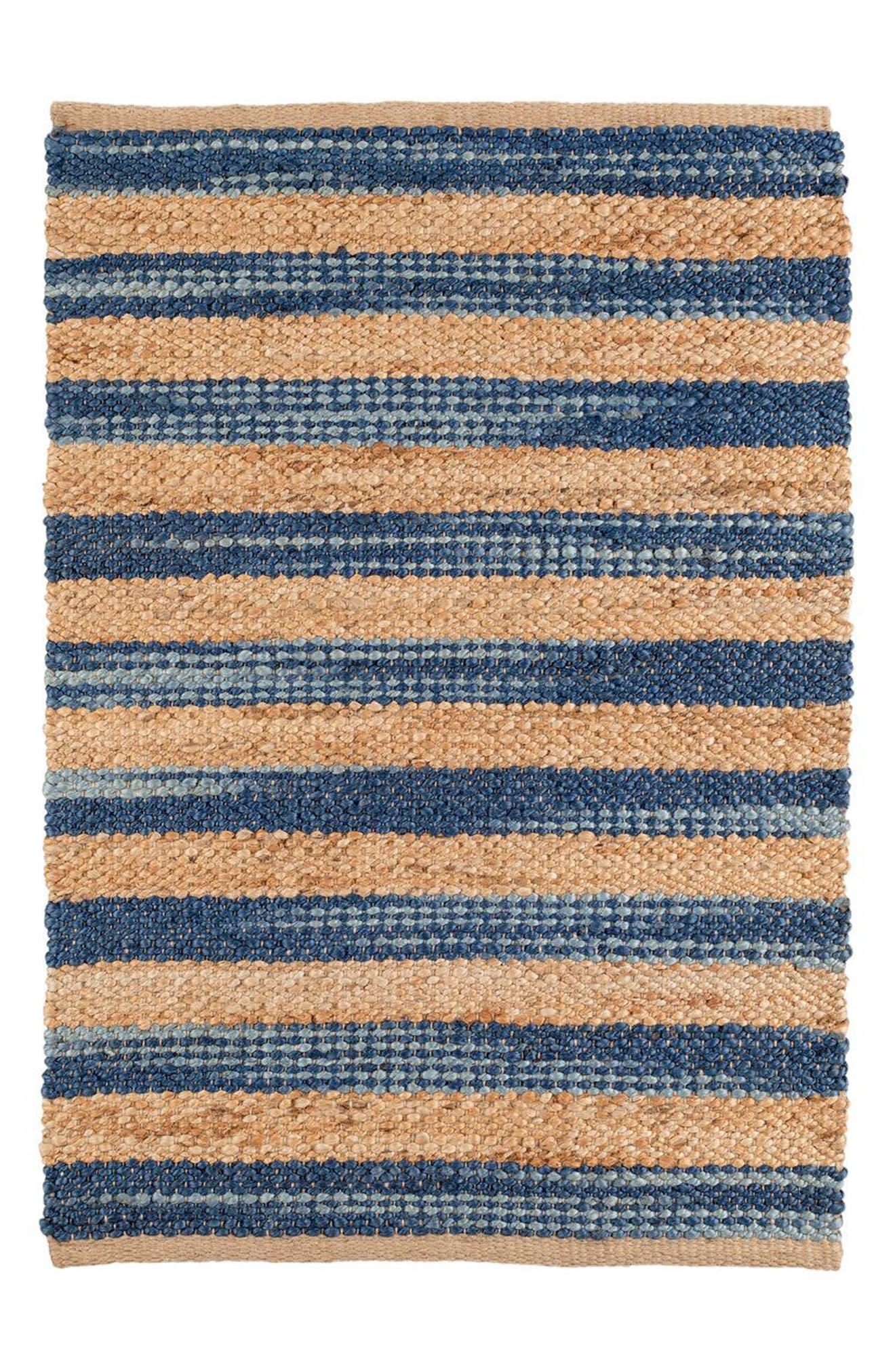 Corfu Blue Jute Rug,                         Main,                         color, Blue