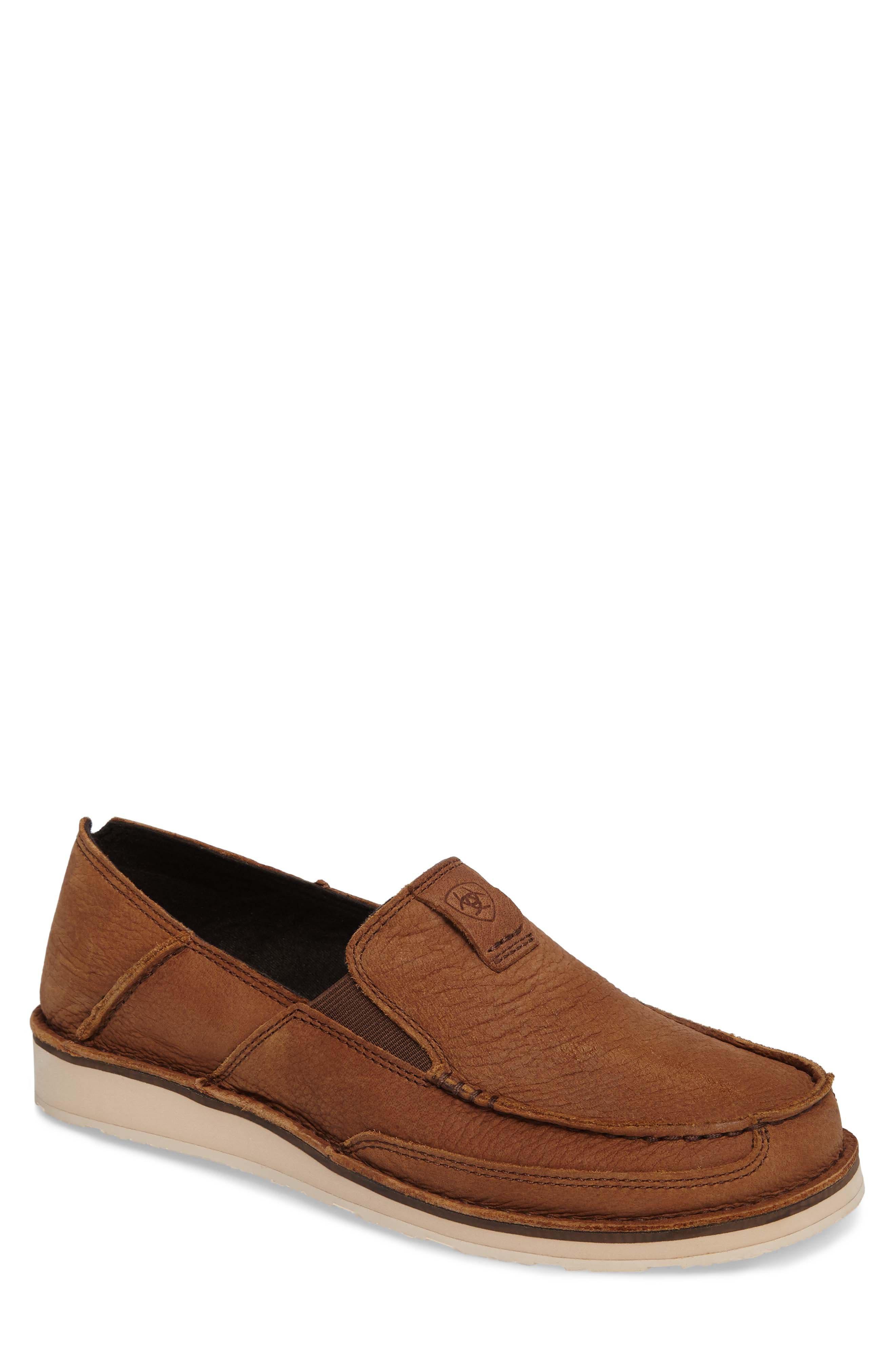 'Cruiser' Slip-On,                         Main,                         color, Aged Bark Leather